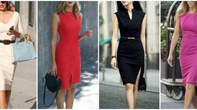 Модели делового платья