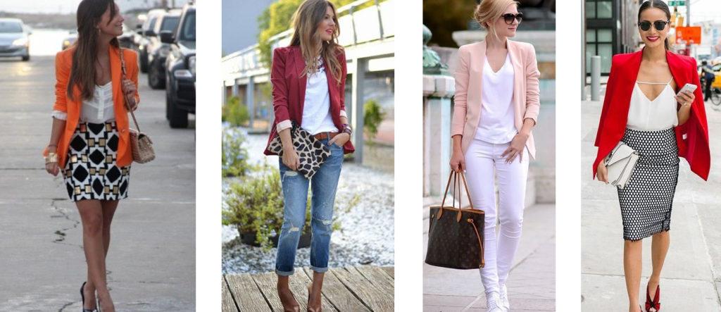 Женский летний пиджак средней длины