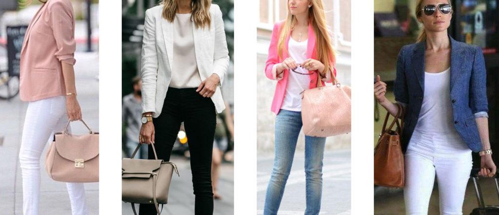 Модели современных летних женских пиджаков