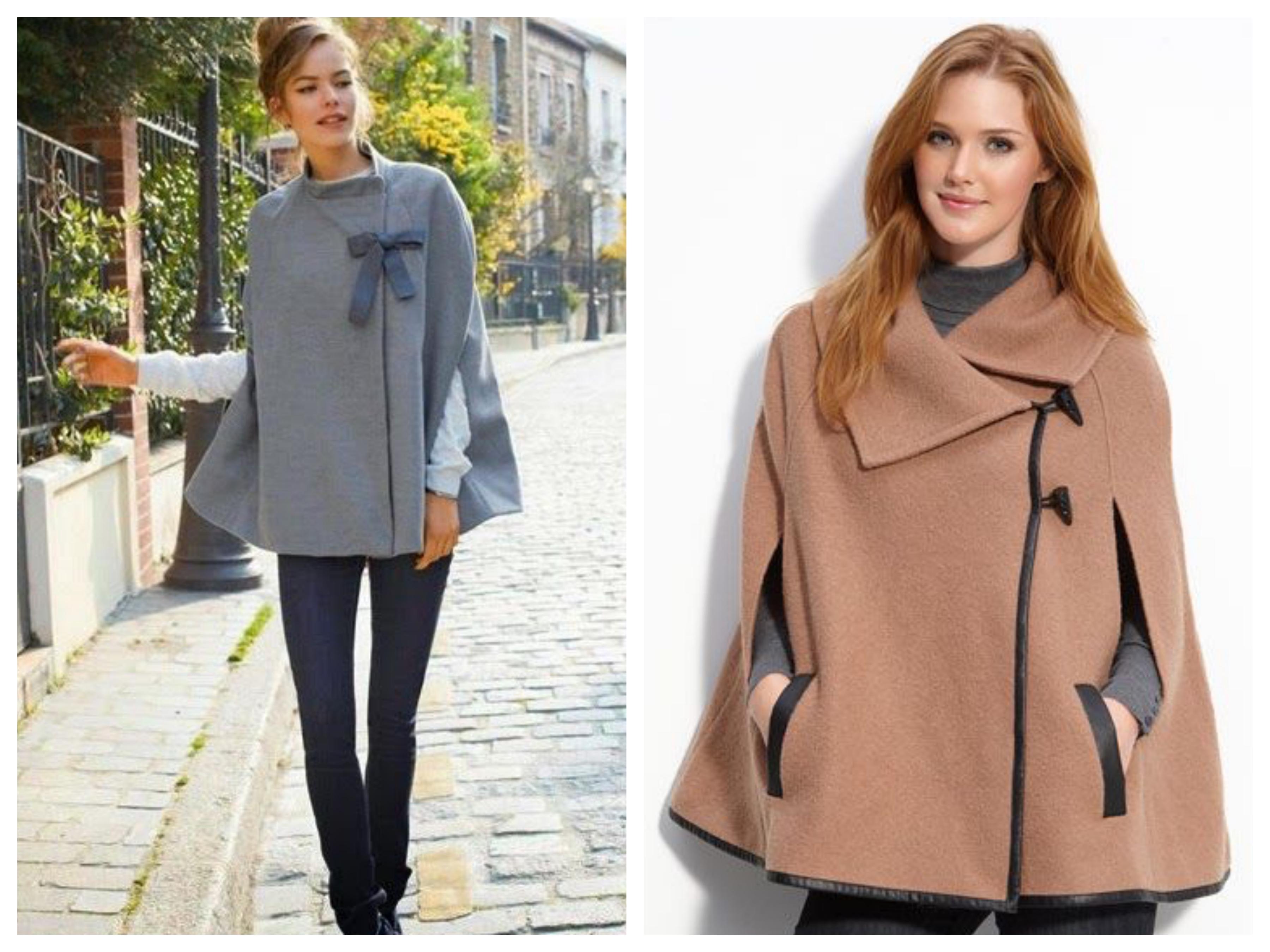 Драповое женское короткое пальто