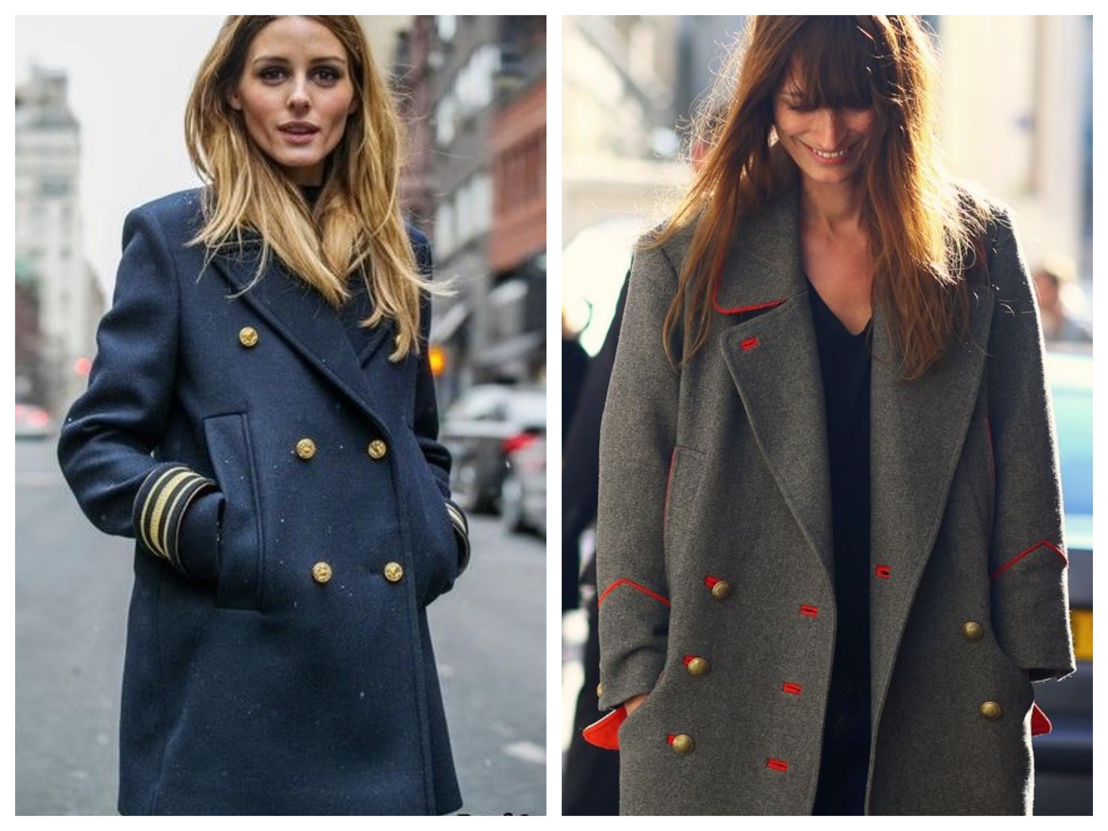 Драповое женское пальто шинель