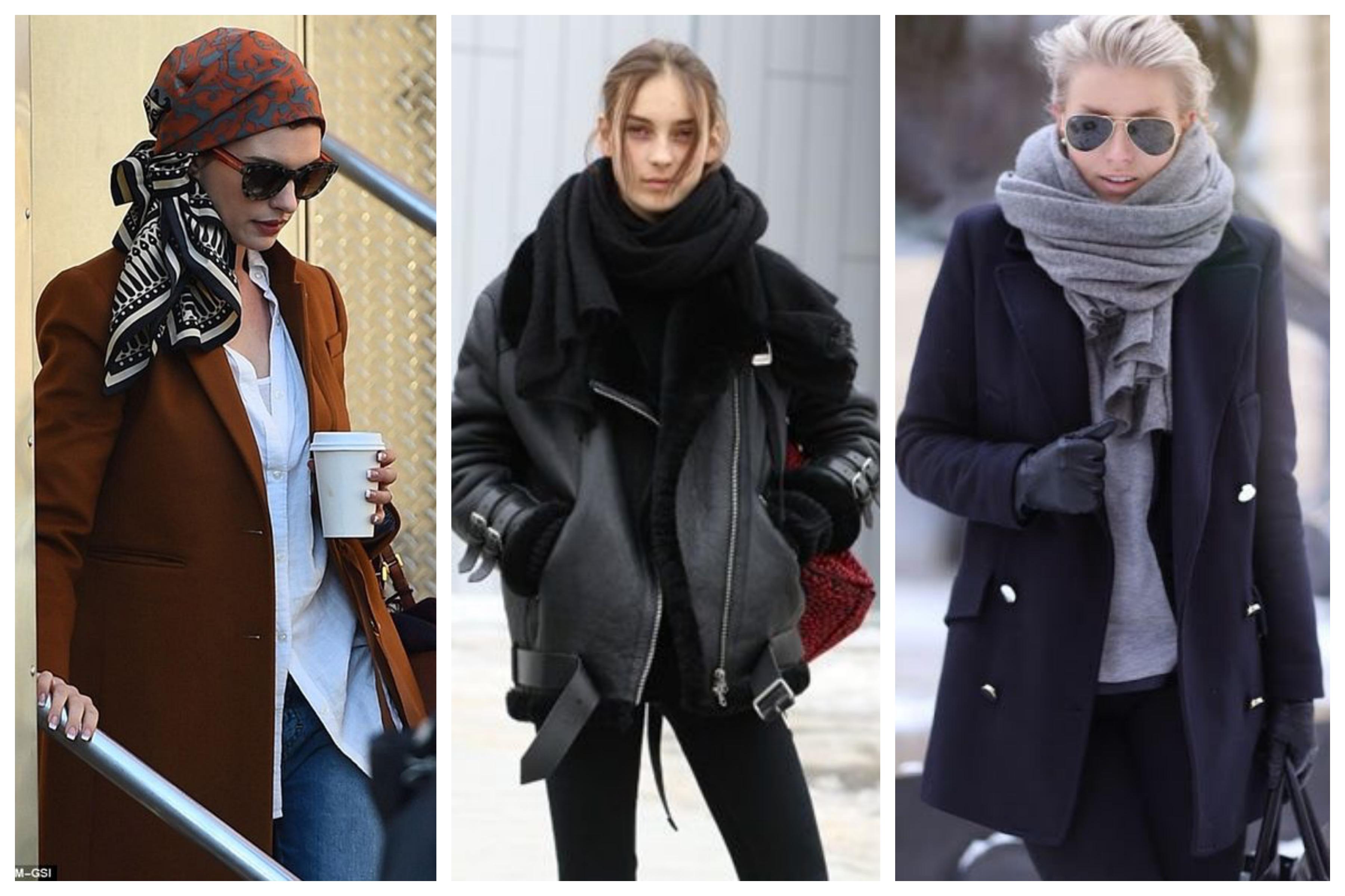 Как и с чем носить шарф