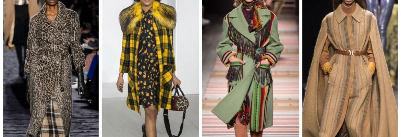 Модное пальто сезона 2018-2019