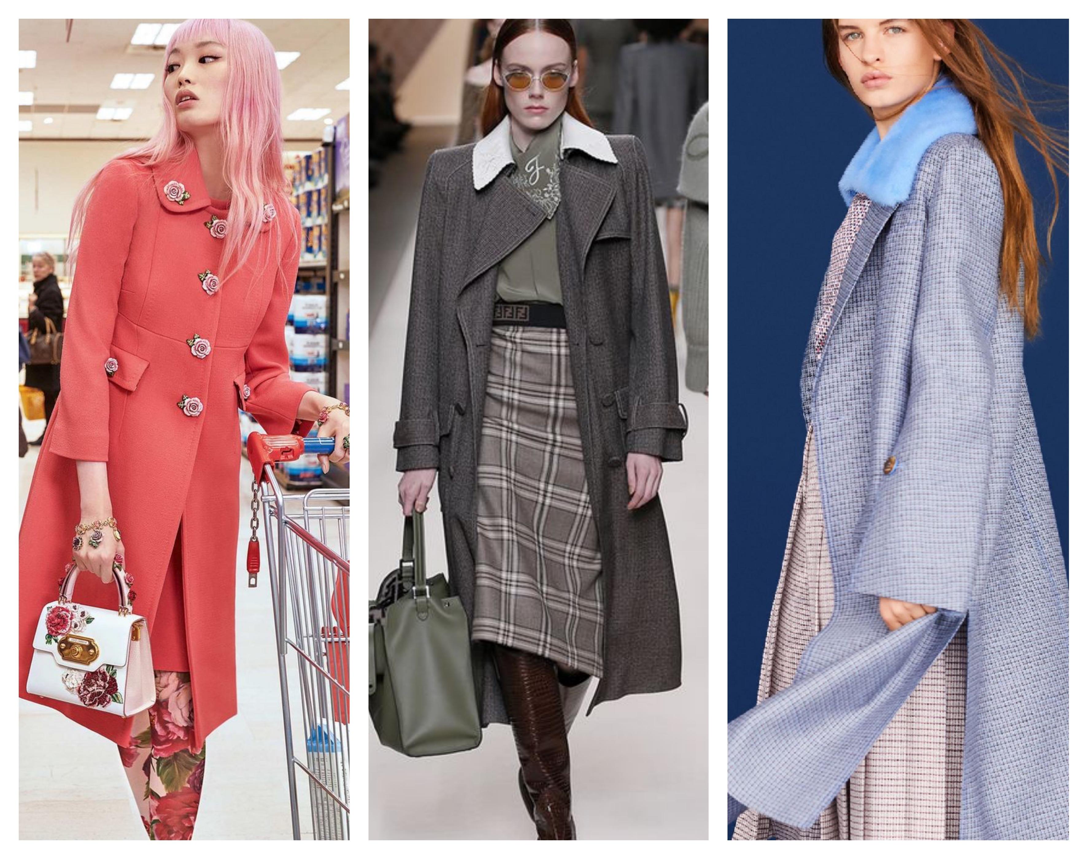 Модное пальто 2018-2019