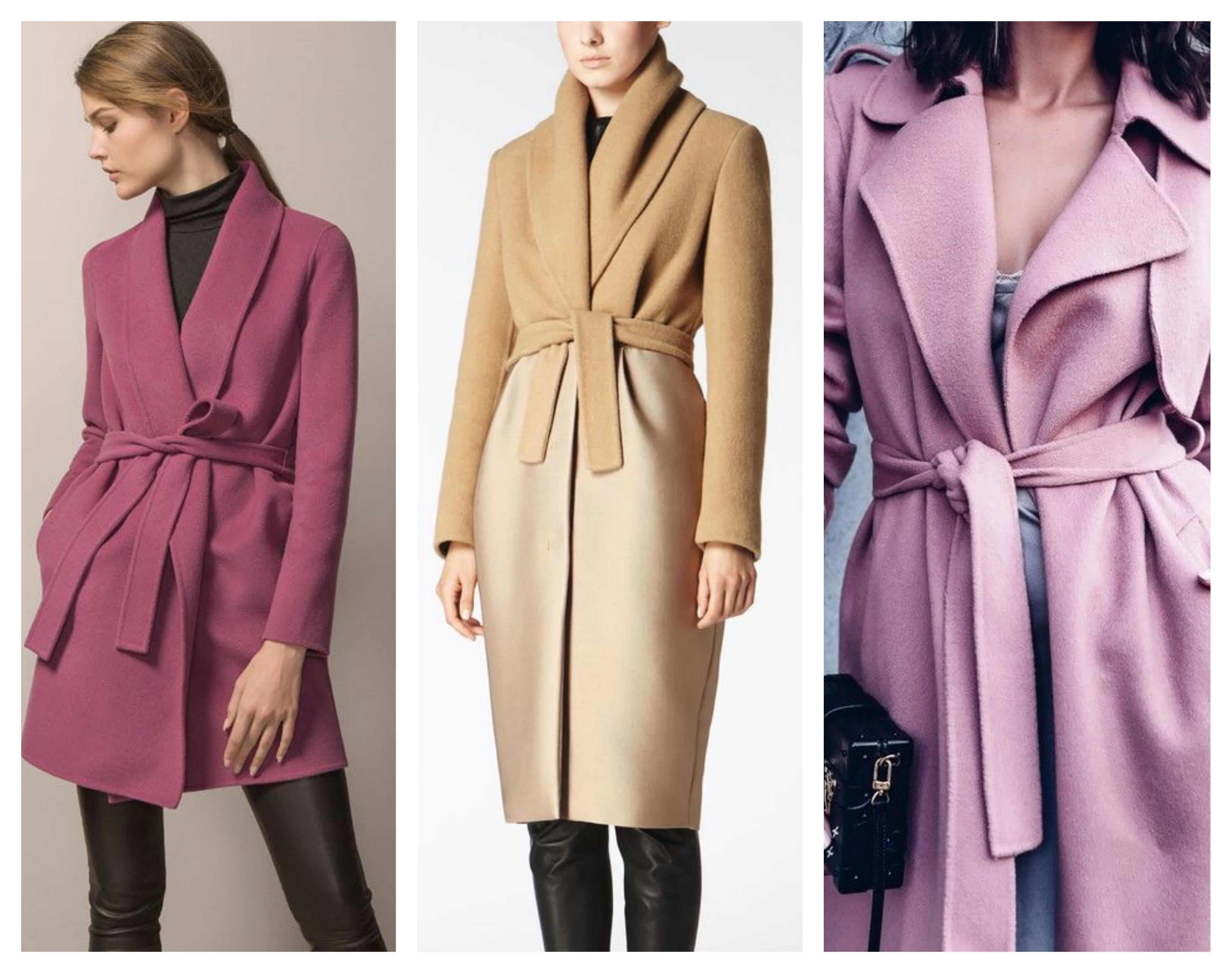Пальто халат 2019