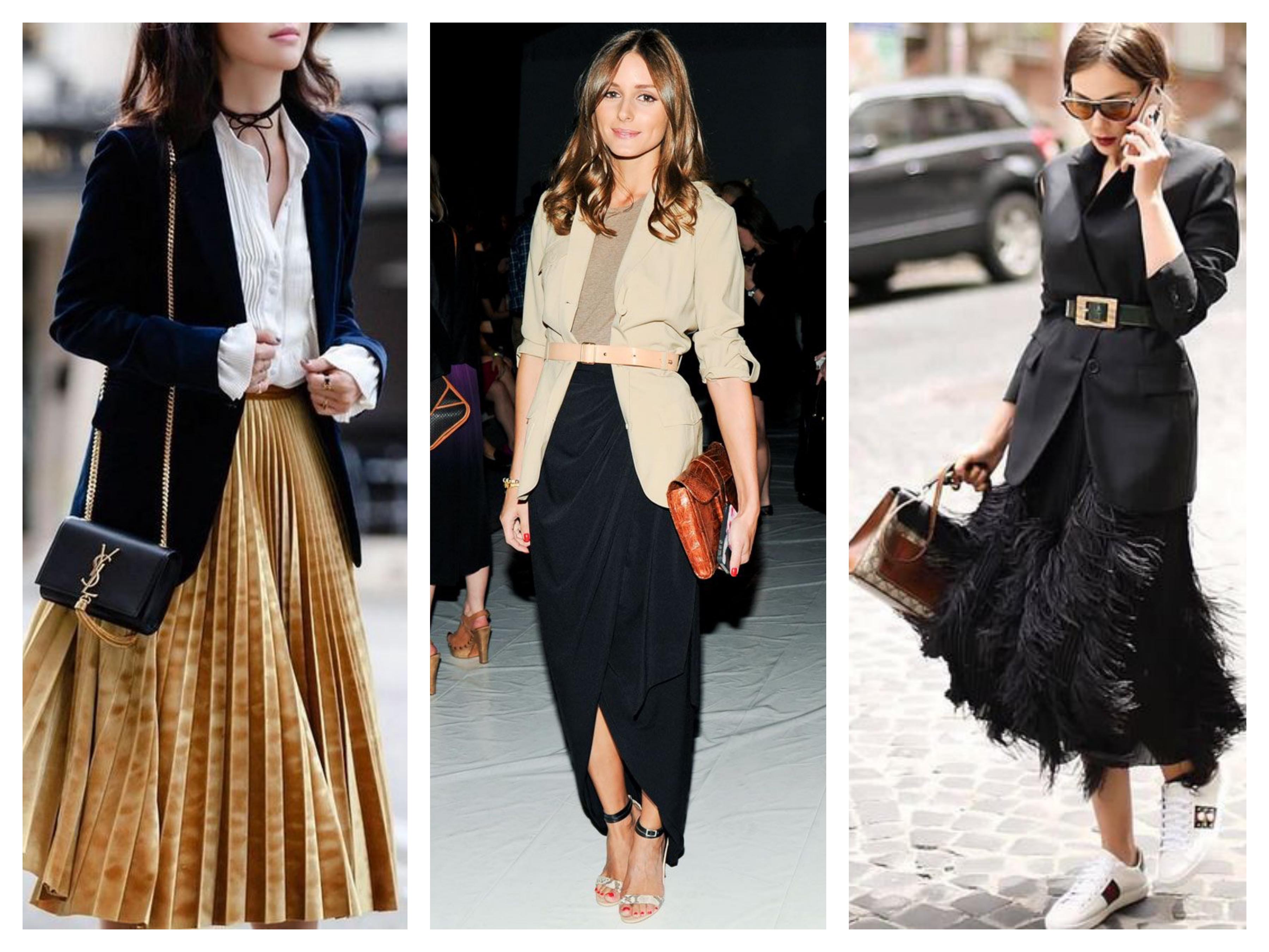 Модный лук - Пиджак и юбка