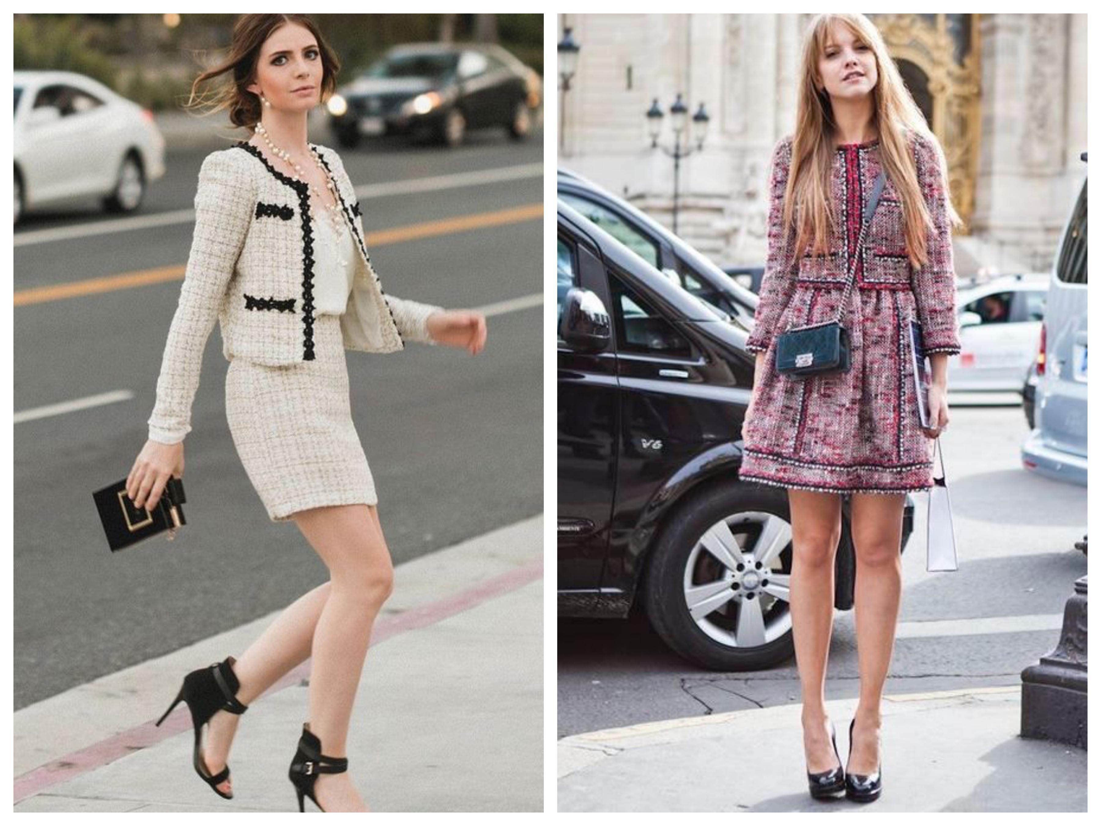 Шанель - Пиджак и юбка