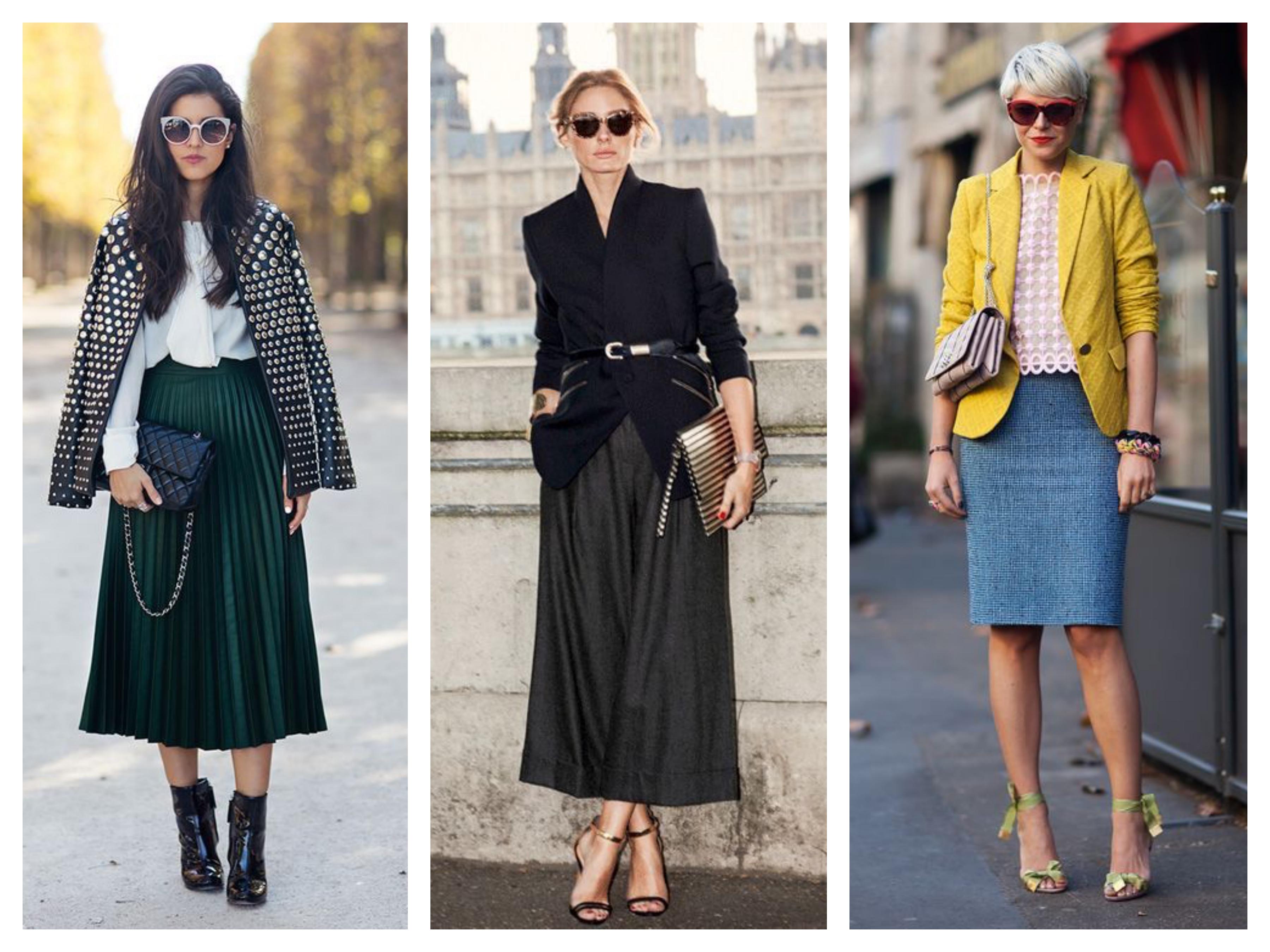 Модный костюм - Пиджак и юбка