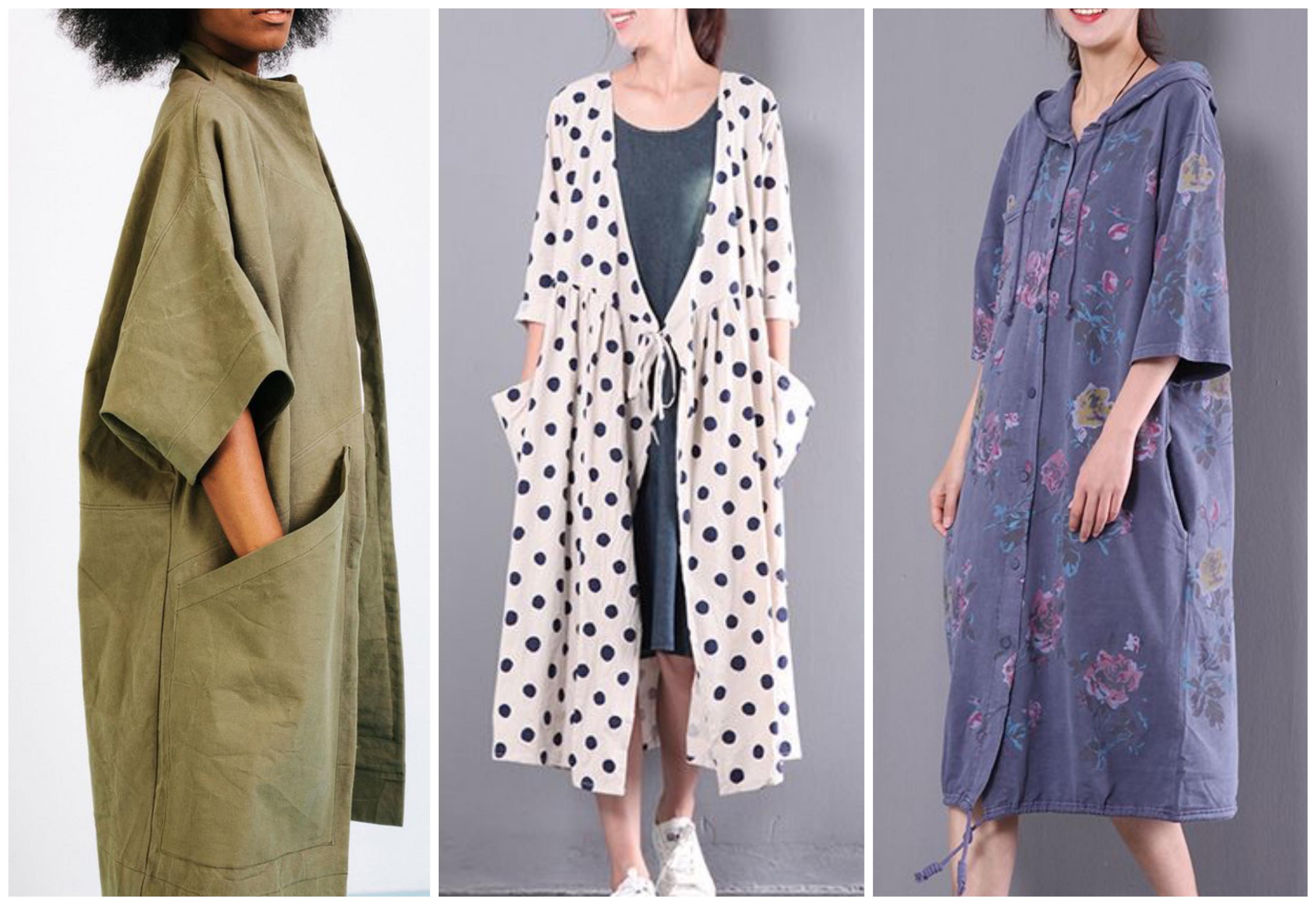 Летнее женское пальто в стиле Бохо