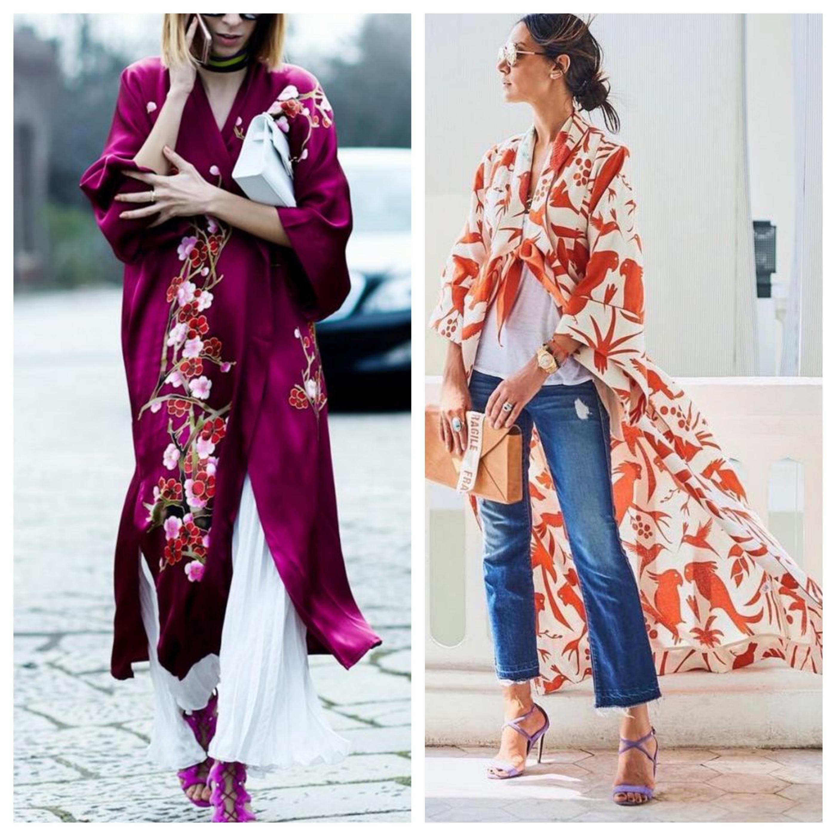 Летнее женское пальто кимоно