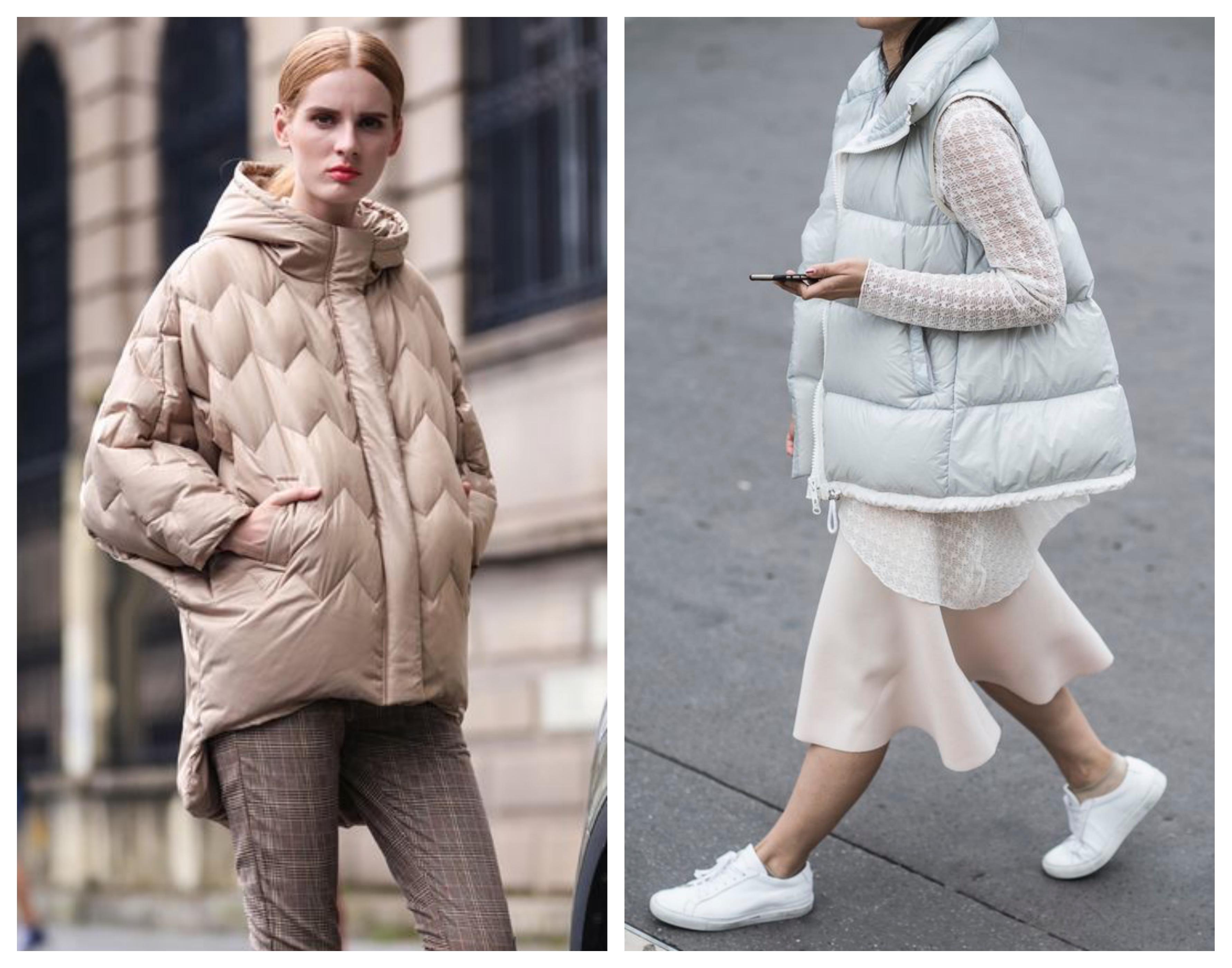 Модное синтепоновое пальто