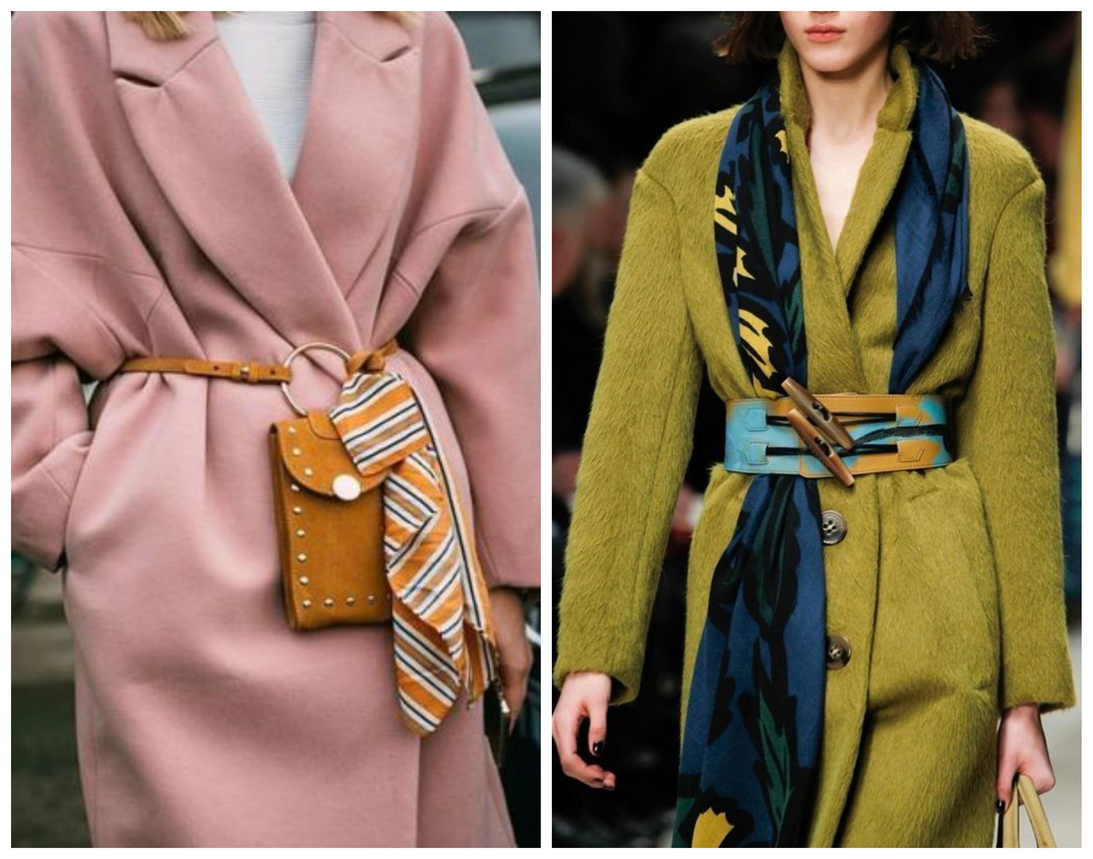 Модное женское шерстяное пальто