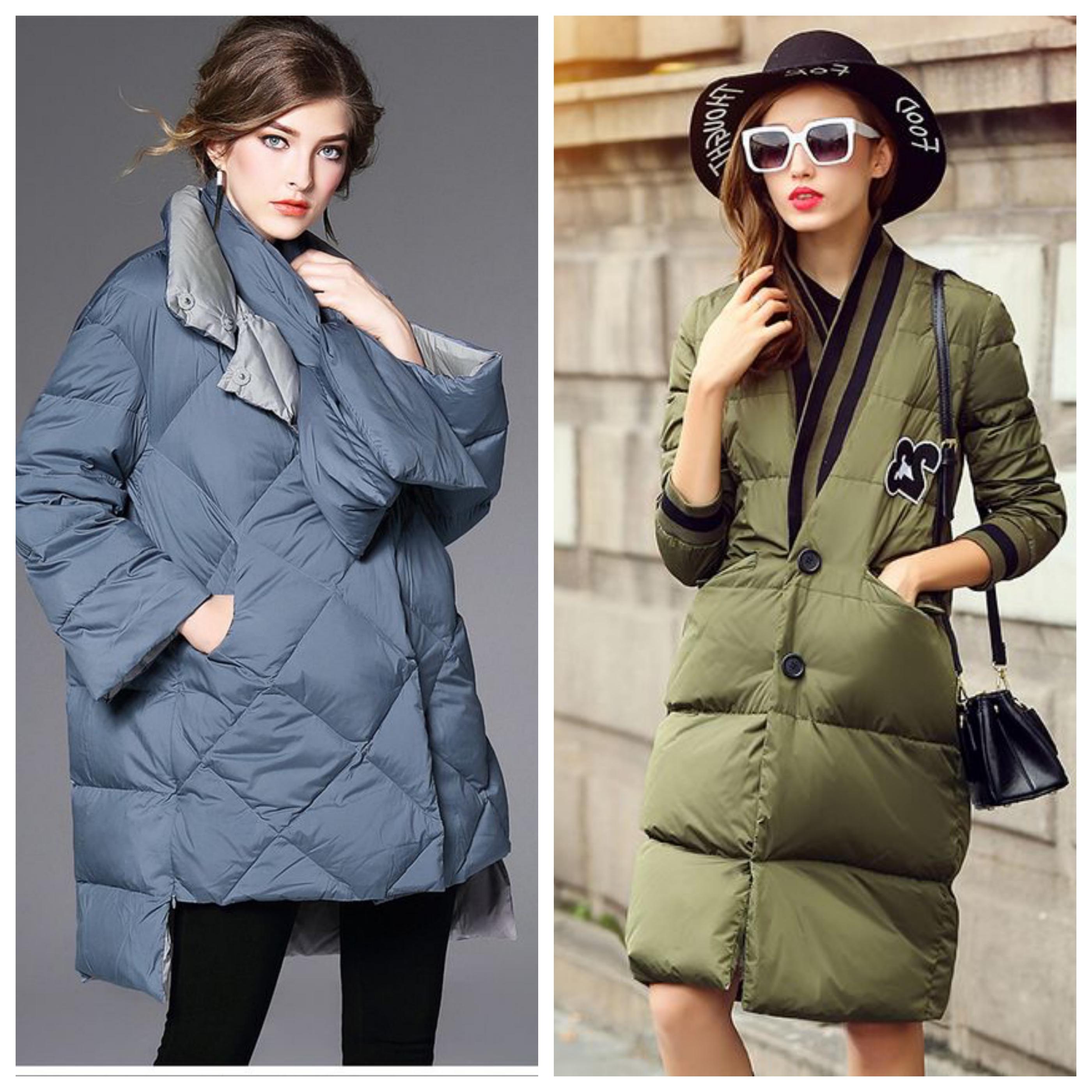Болоньевое пальто на синтепоне