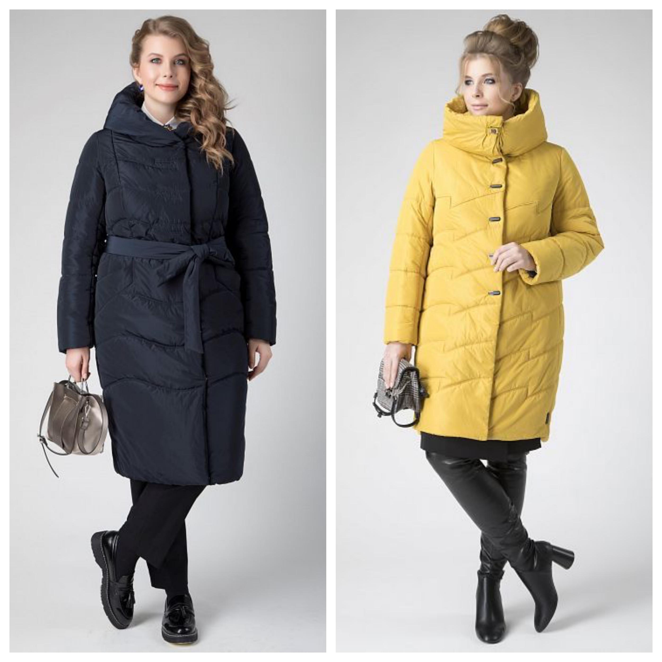Синтепоновое пальто больших размеров