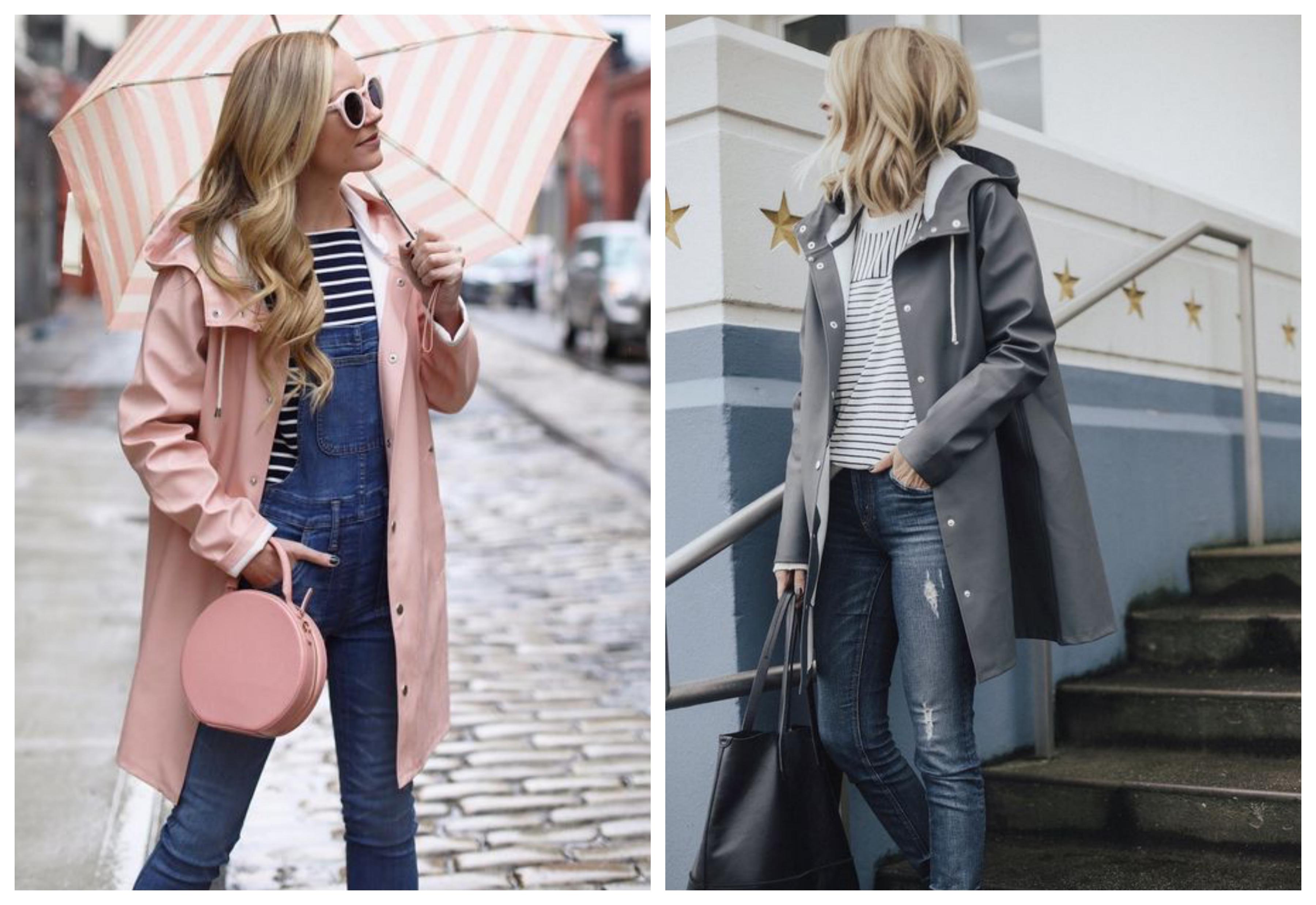 Пальто с капюшоном - стильный лук