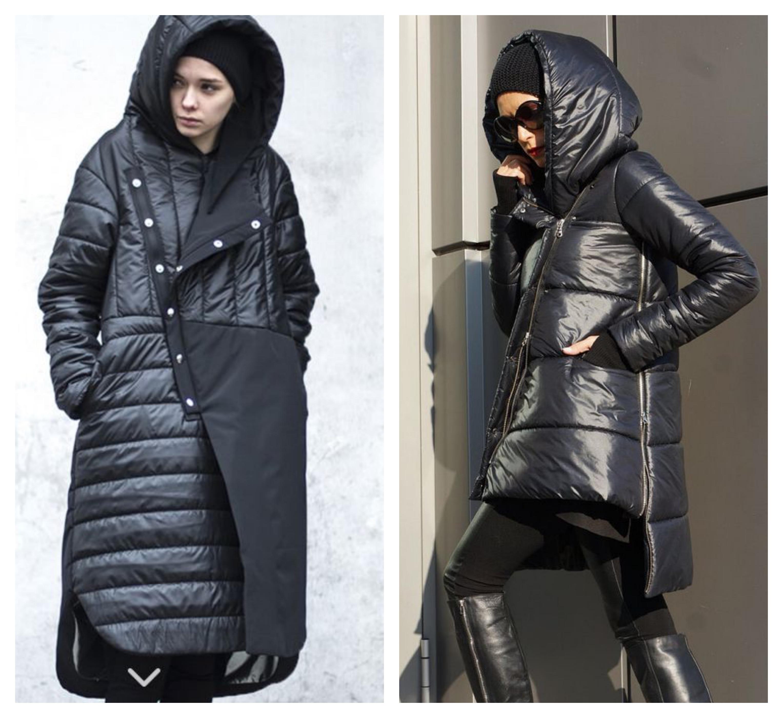 Спортивное пальто с капюшоном