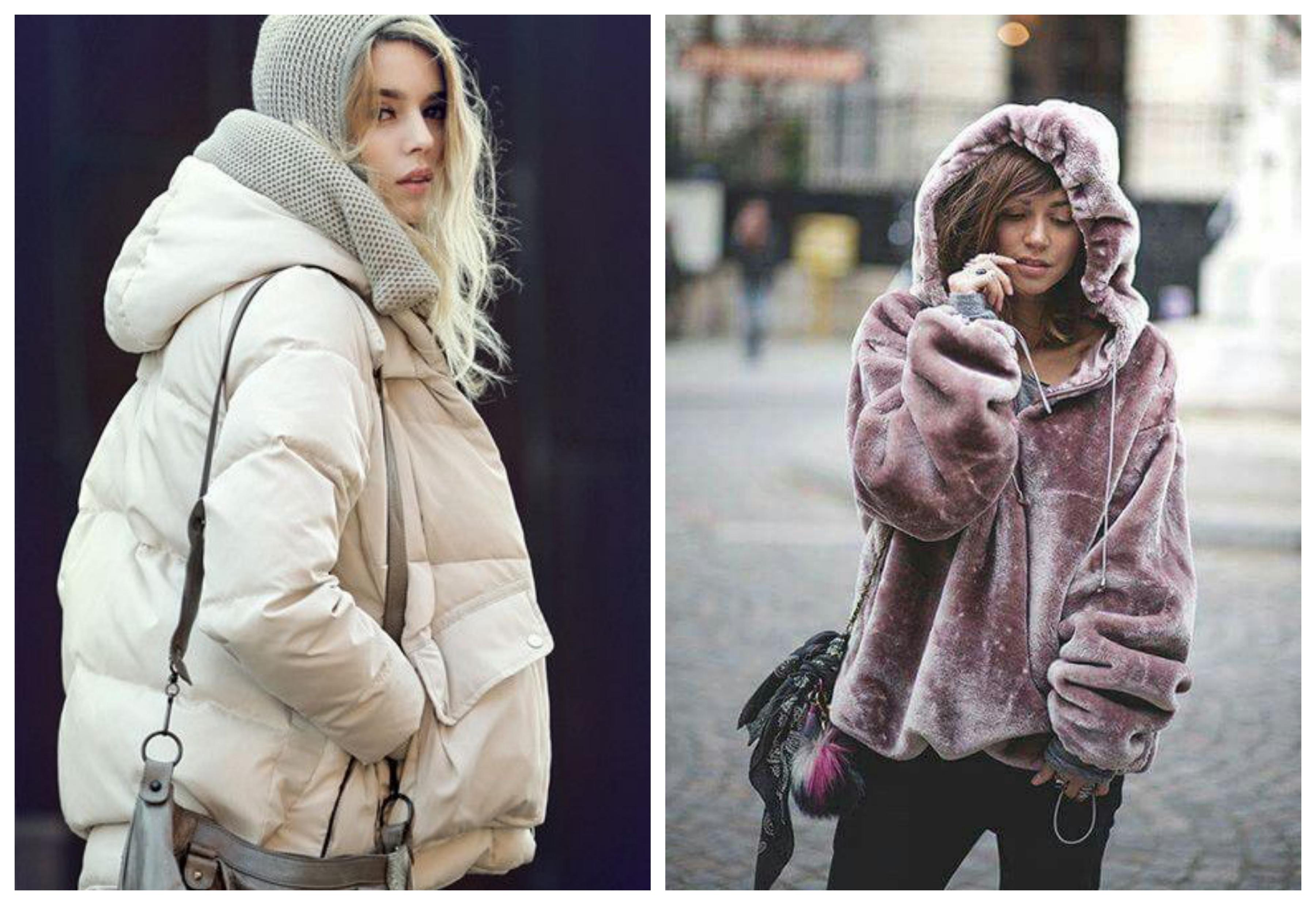 Пальто с капюшоном - модные тенденции