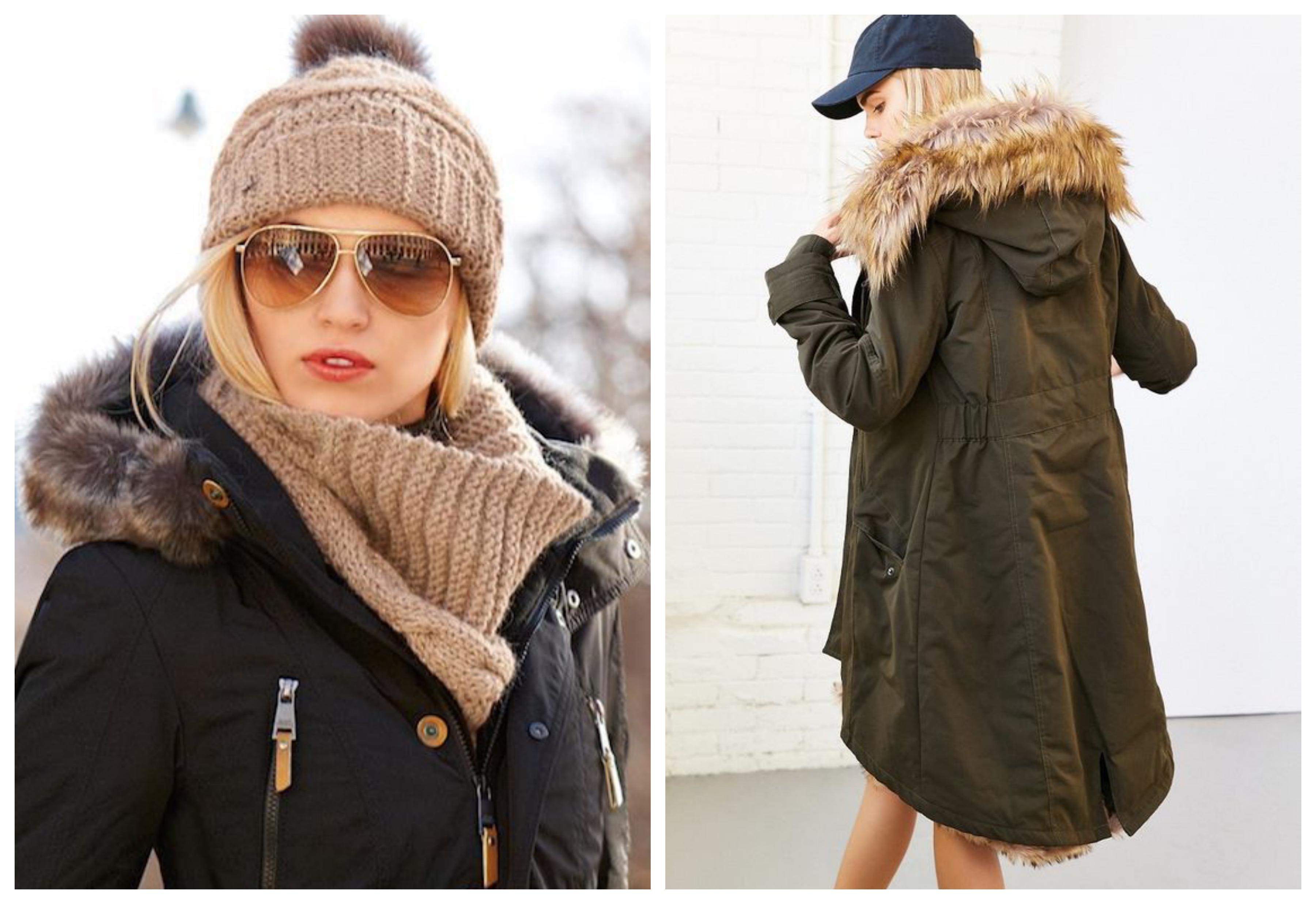 Шапки для пальто с капюшоном