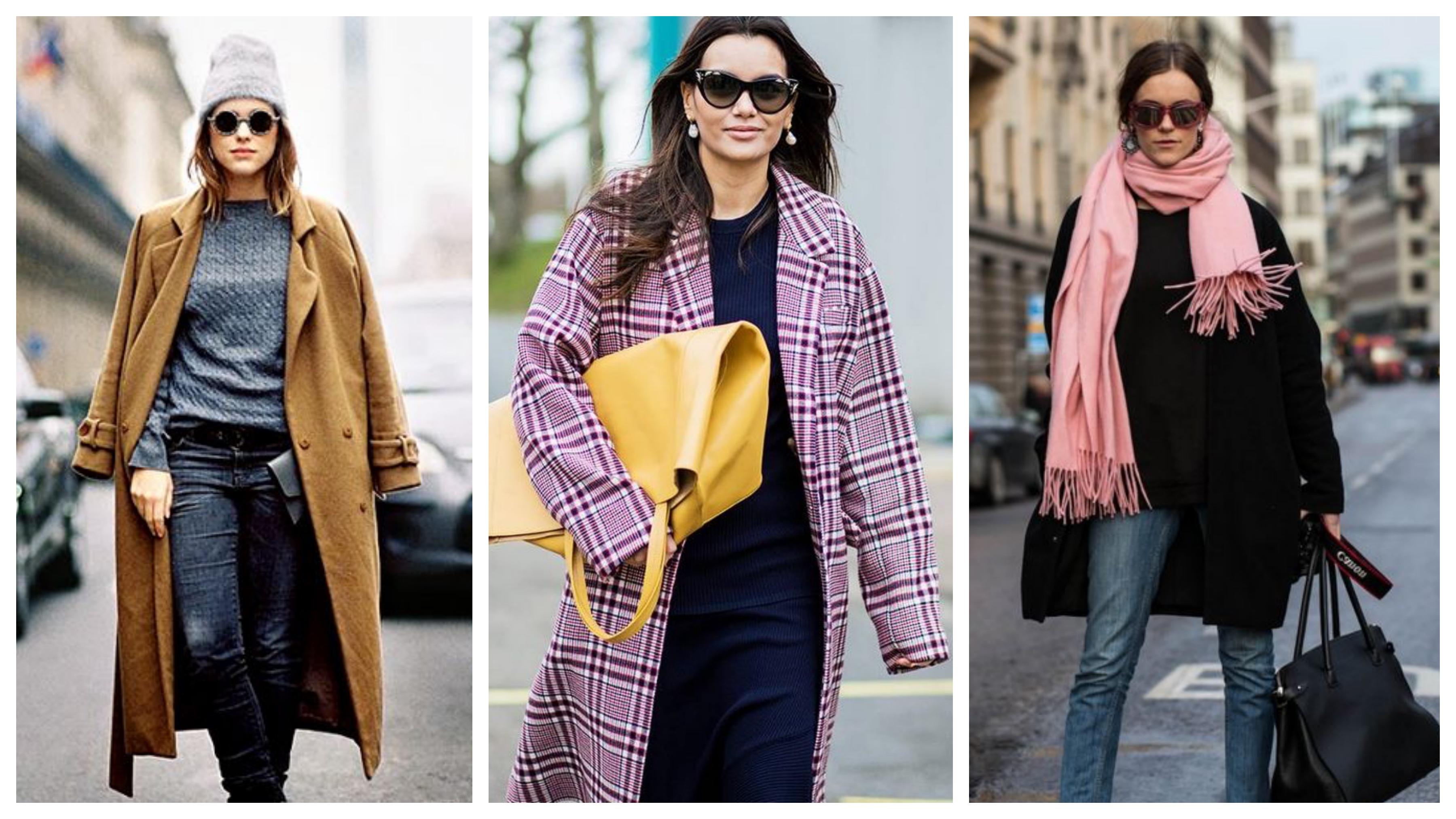 Аксессуары для зимнего женского пальто