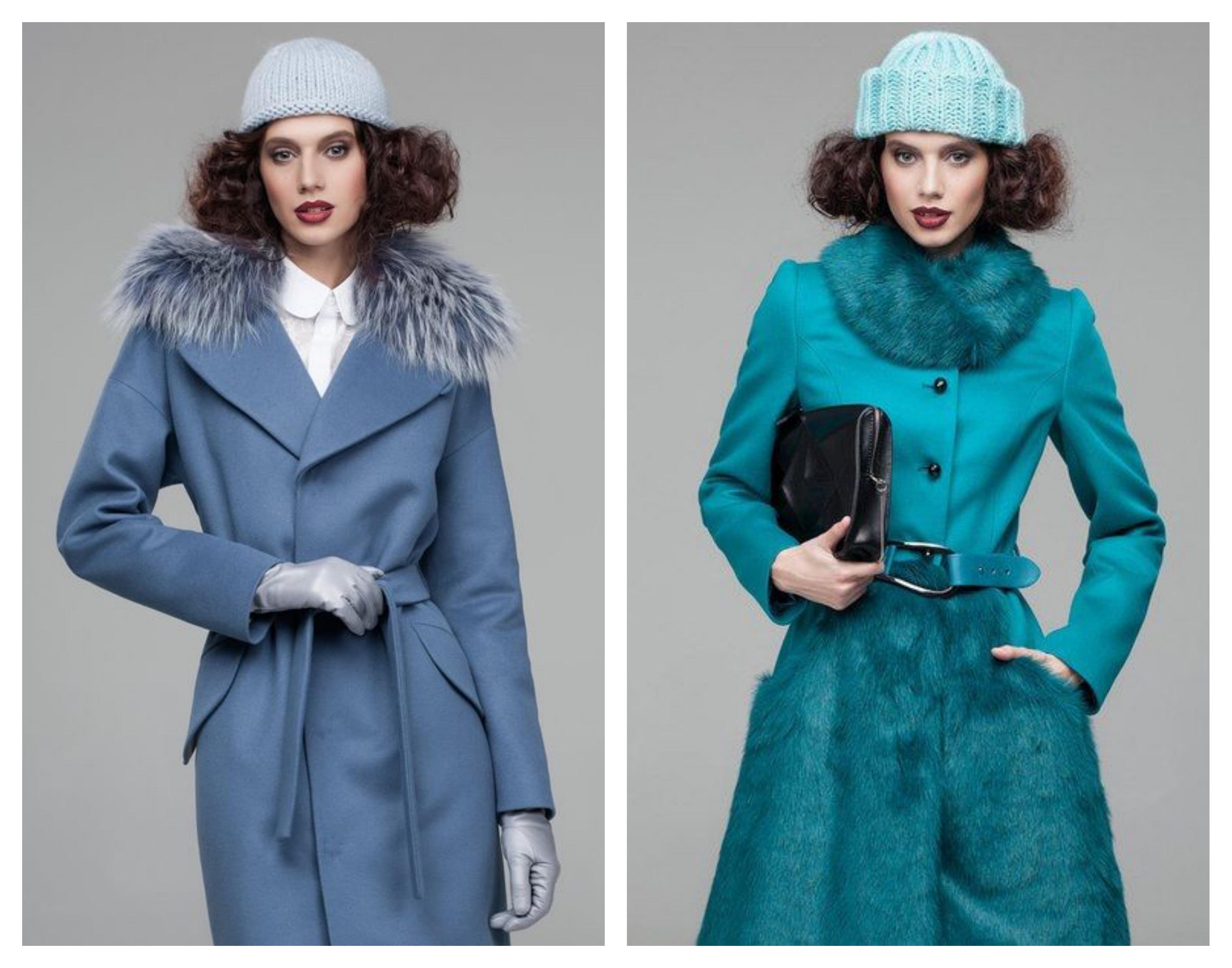 Шапка для зимнего женского пальто