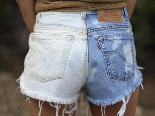 Как покрасить джинсы дома