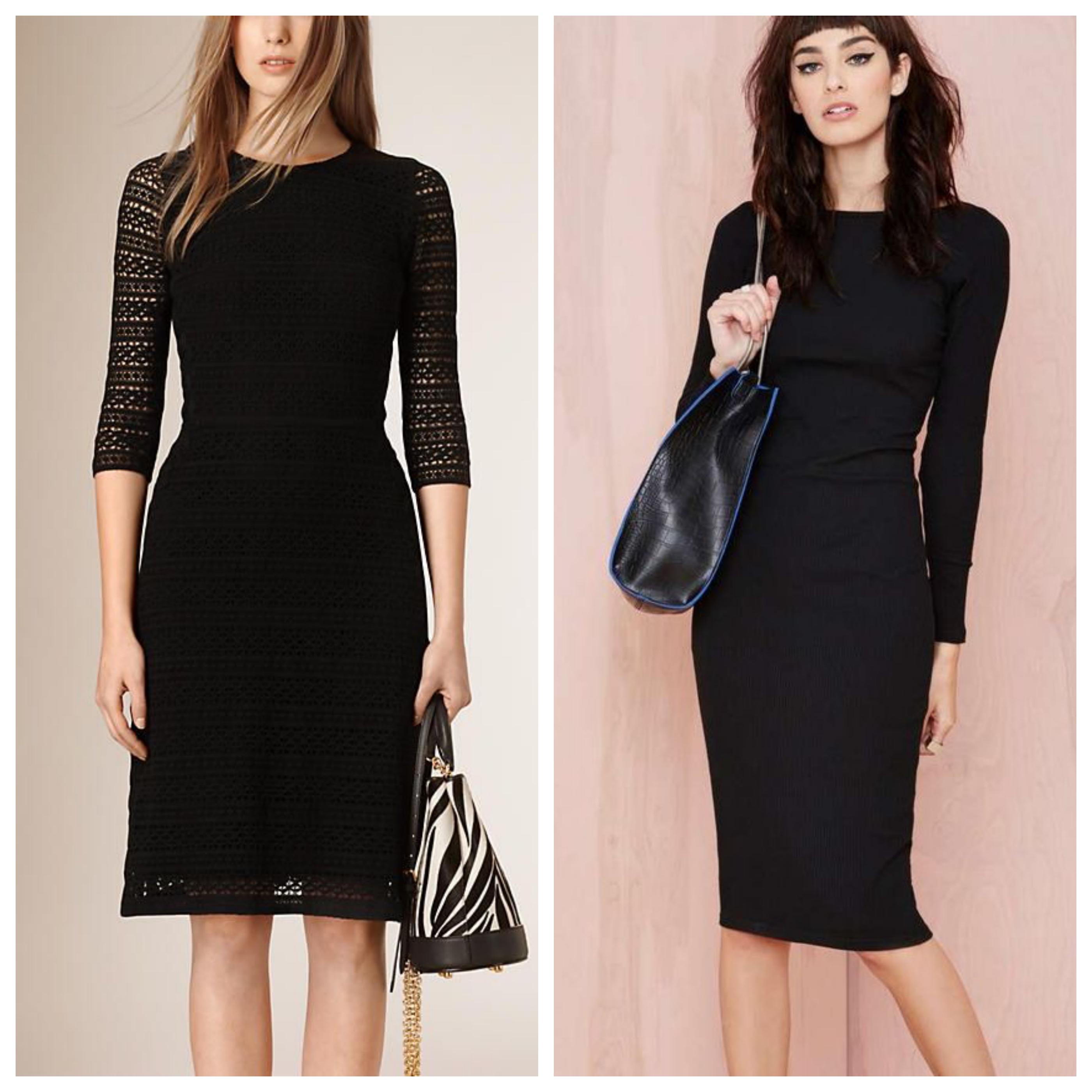 Сумка под черное платье