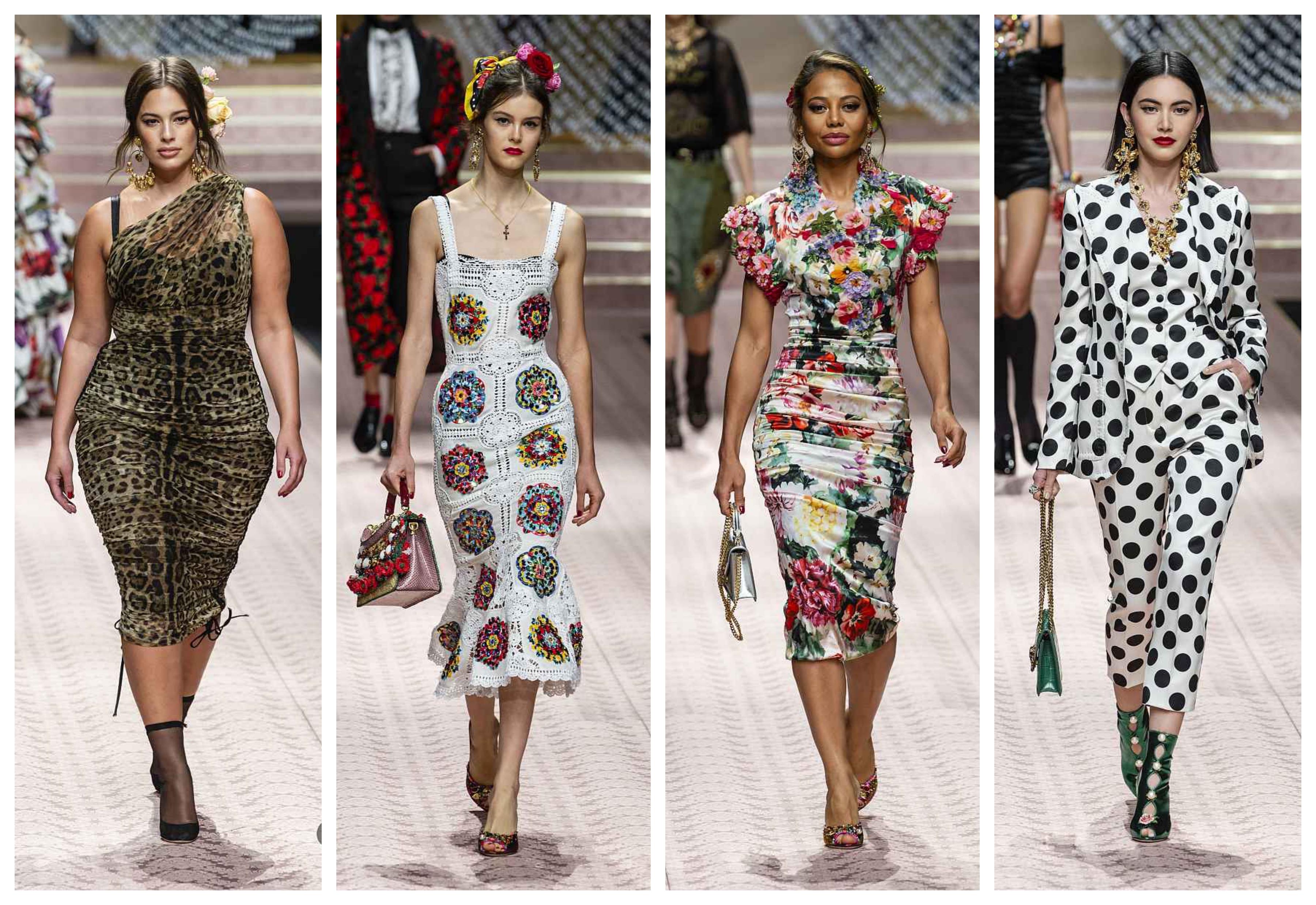 Модные платья 2019. DOLCE & GABBANA