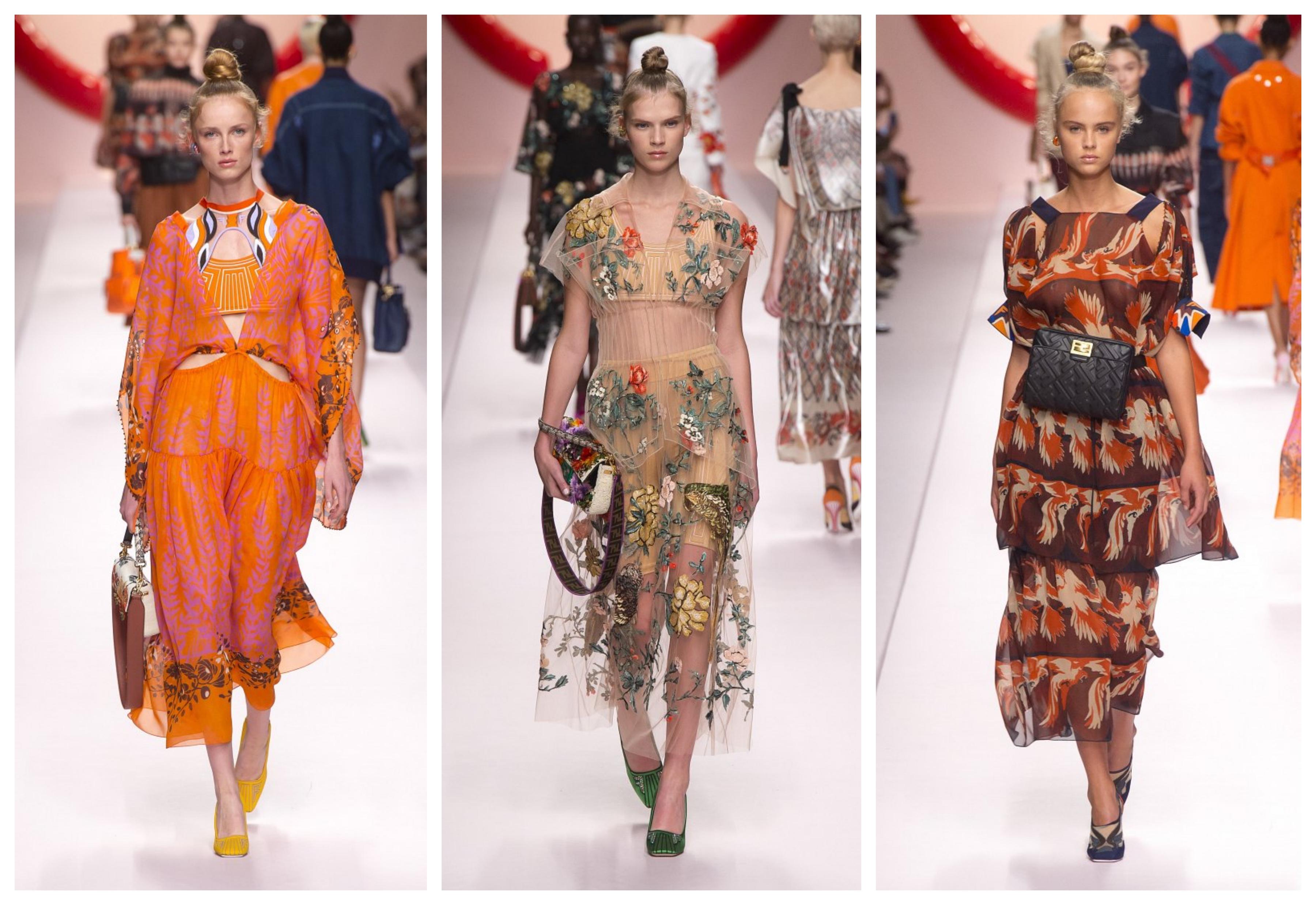 Мода на платья в 2019 году