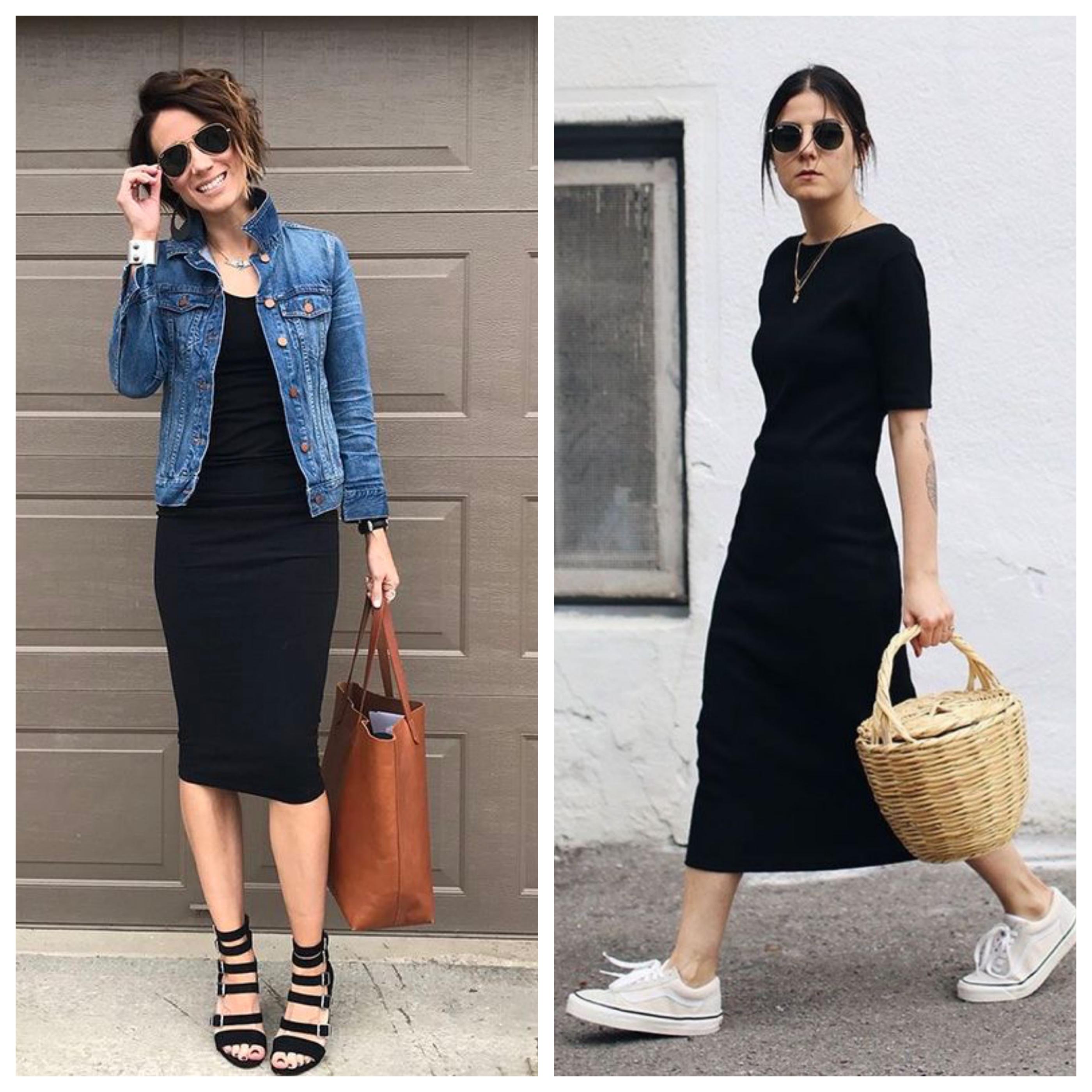Обувь и аксессуары под черное платье