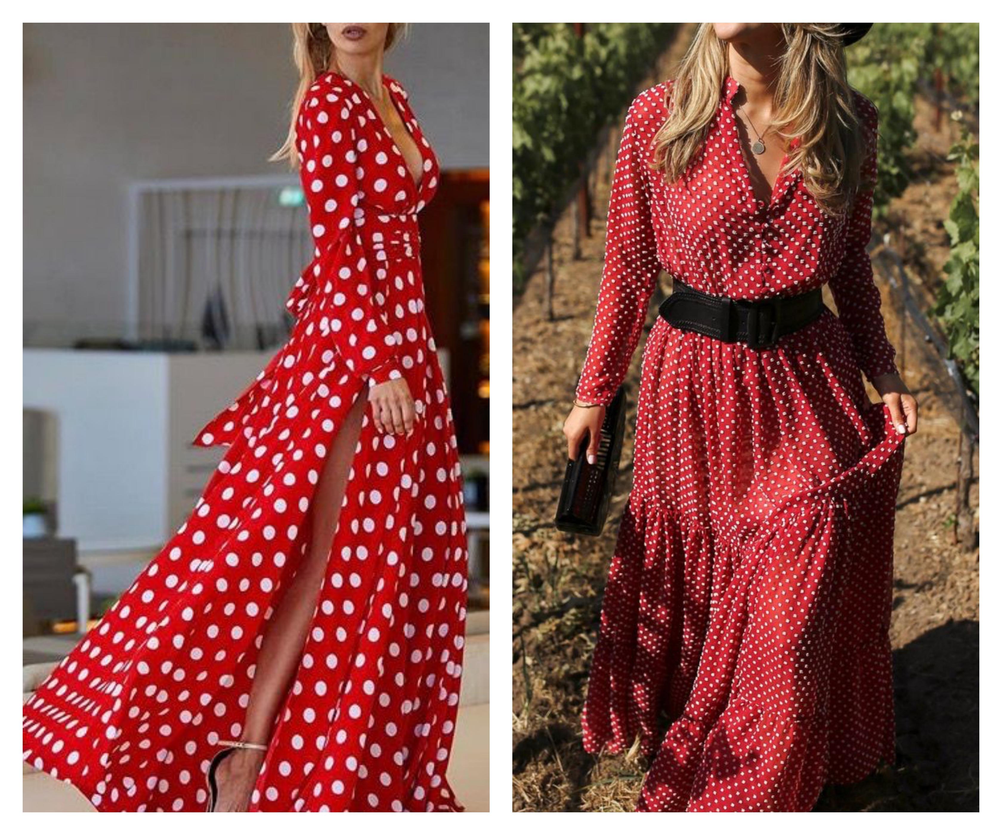 5b0fe00d34a Платье в горошек - dress in peas (93 фото) - Just clothes