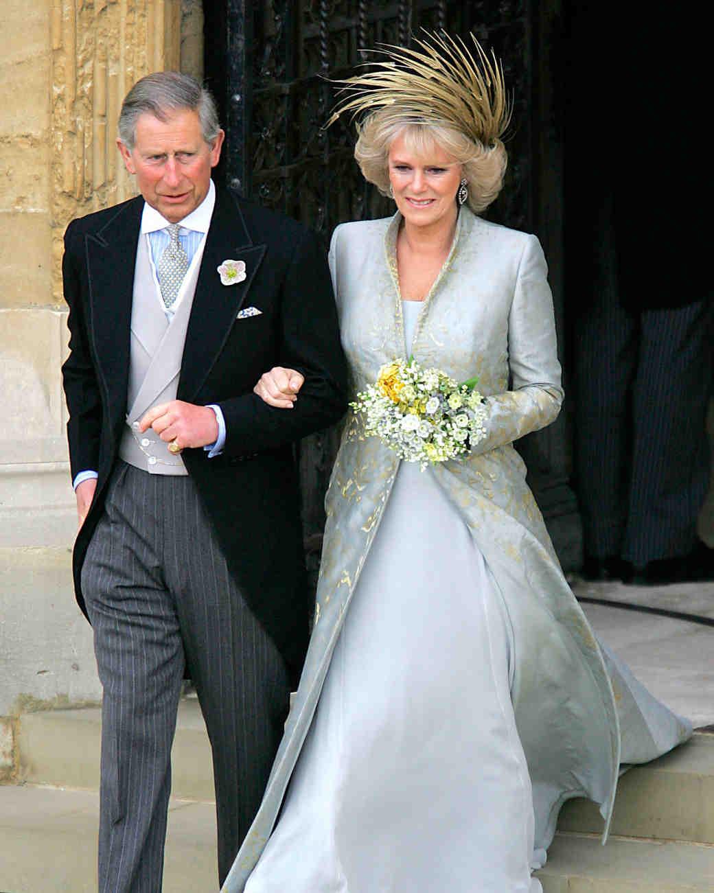 Свадебное платье иКамиллы, герцогини Корнуолл
