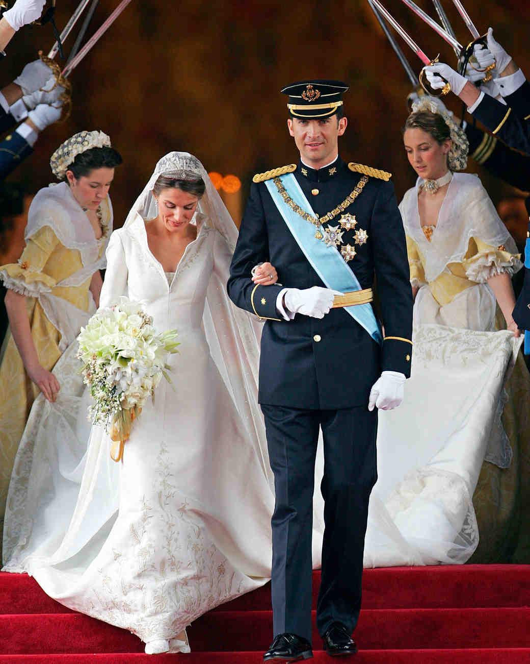 Свадебное платье Королевы Летиции из Испании