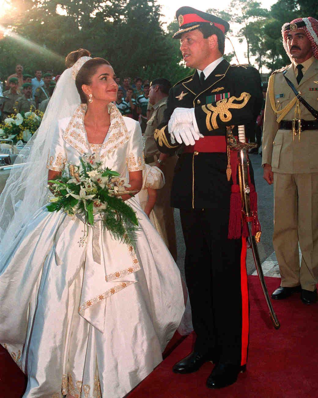 Платье Королевы Иордании Рания