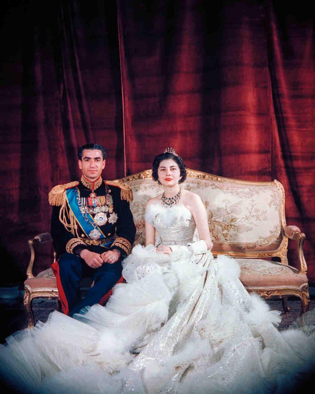 Свадебное платье Королевы Сорайя из Ирана