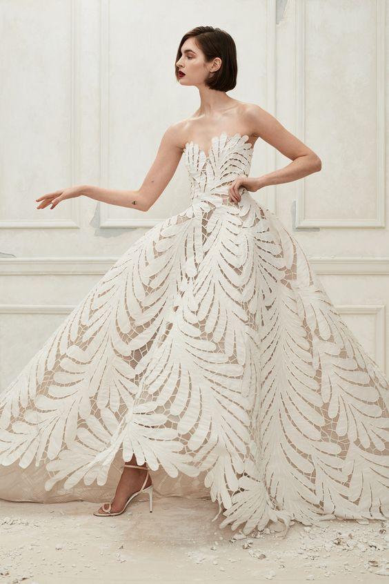 Свадебное платье - осень-зима 2019