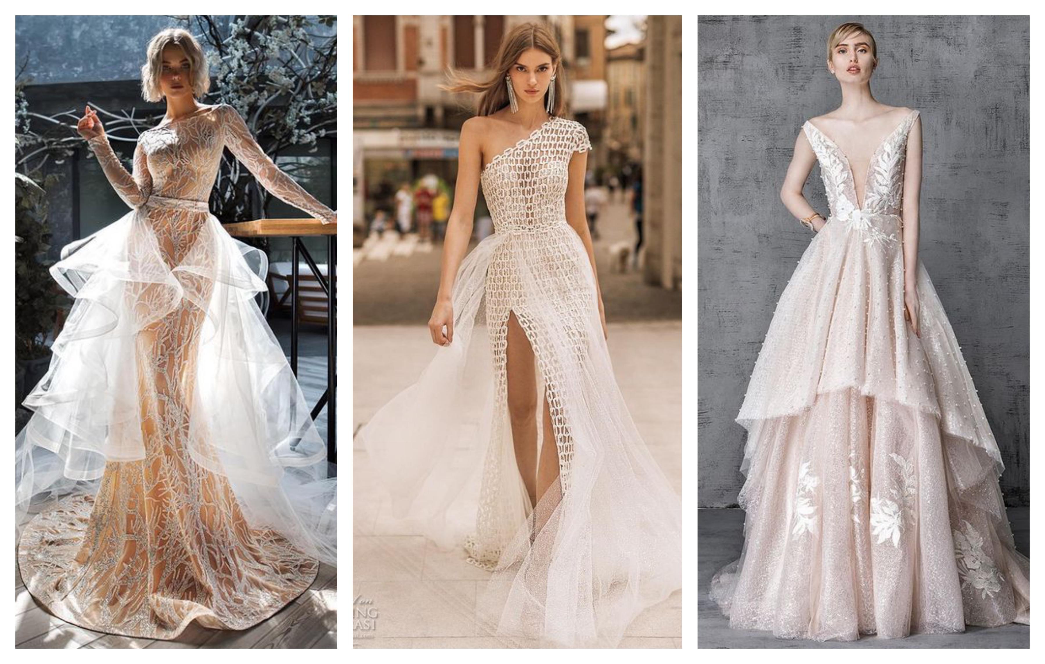 Платья со шлейфом 2019