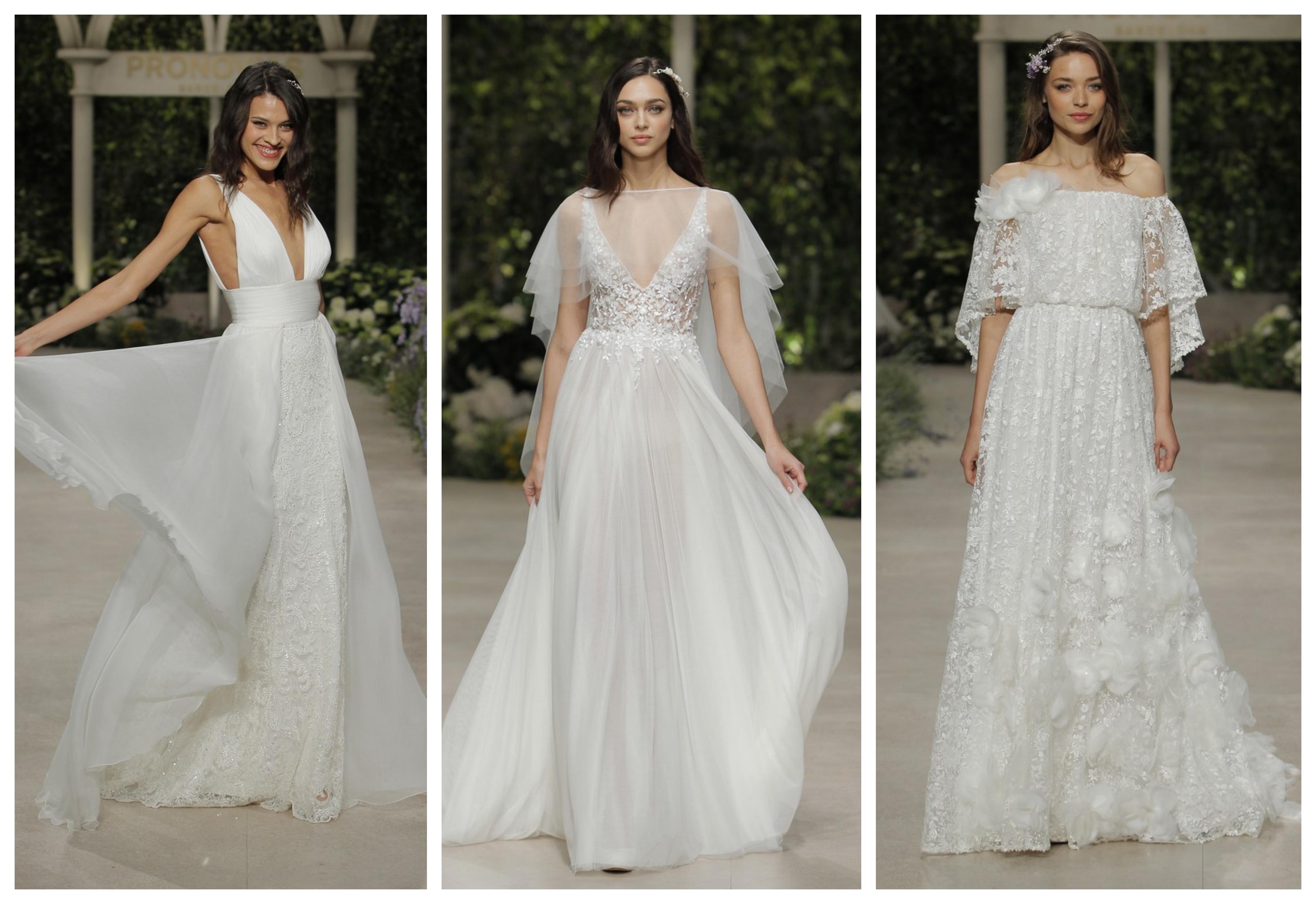 Модное свадебное платье весна 2019