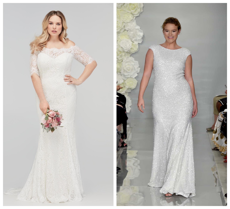 Свадебное платье большого размера 2019