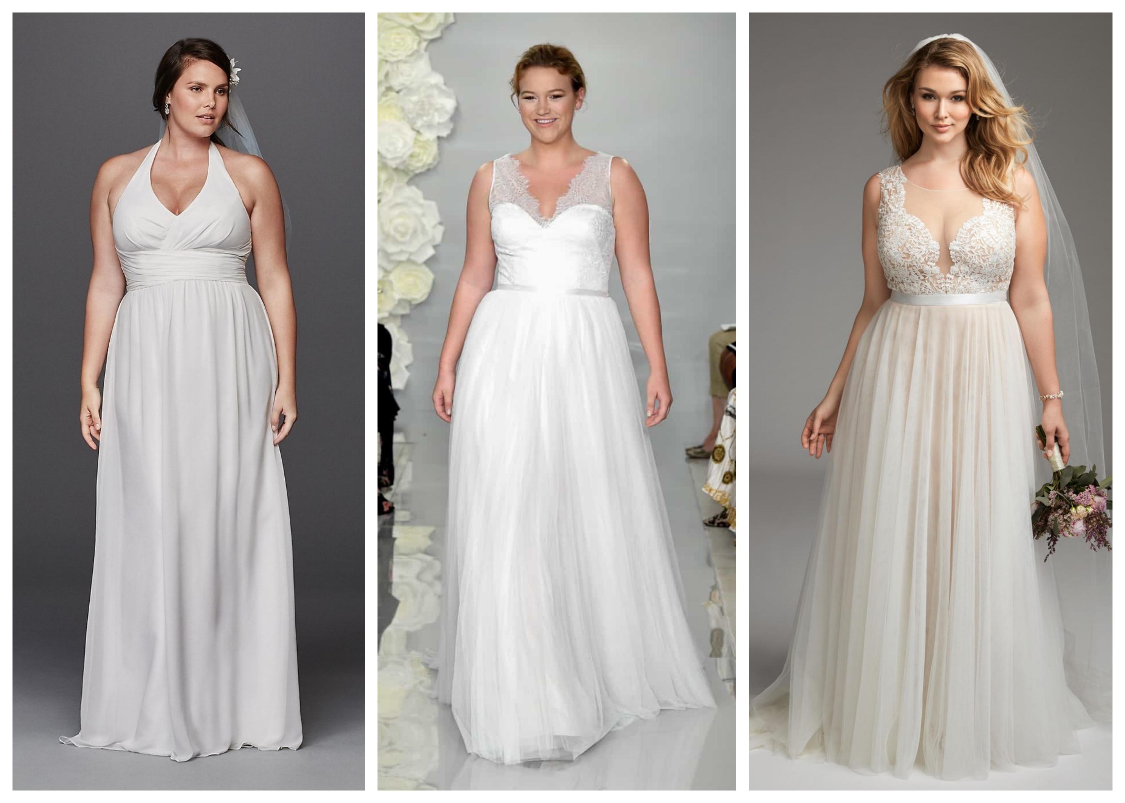 Свадебное платье больших размеров 2019