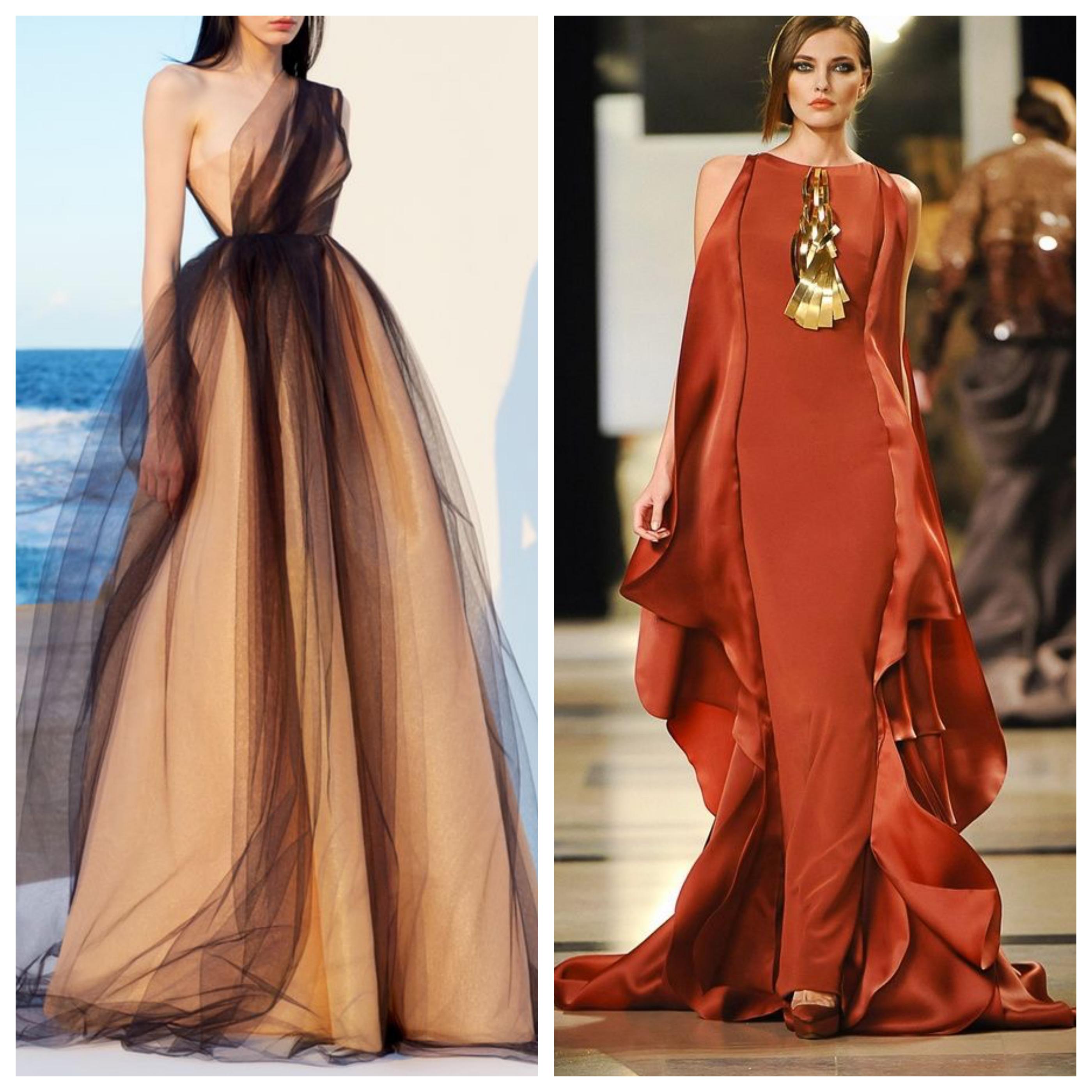 Цвета вечернего платья на выпускной вечер