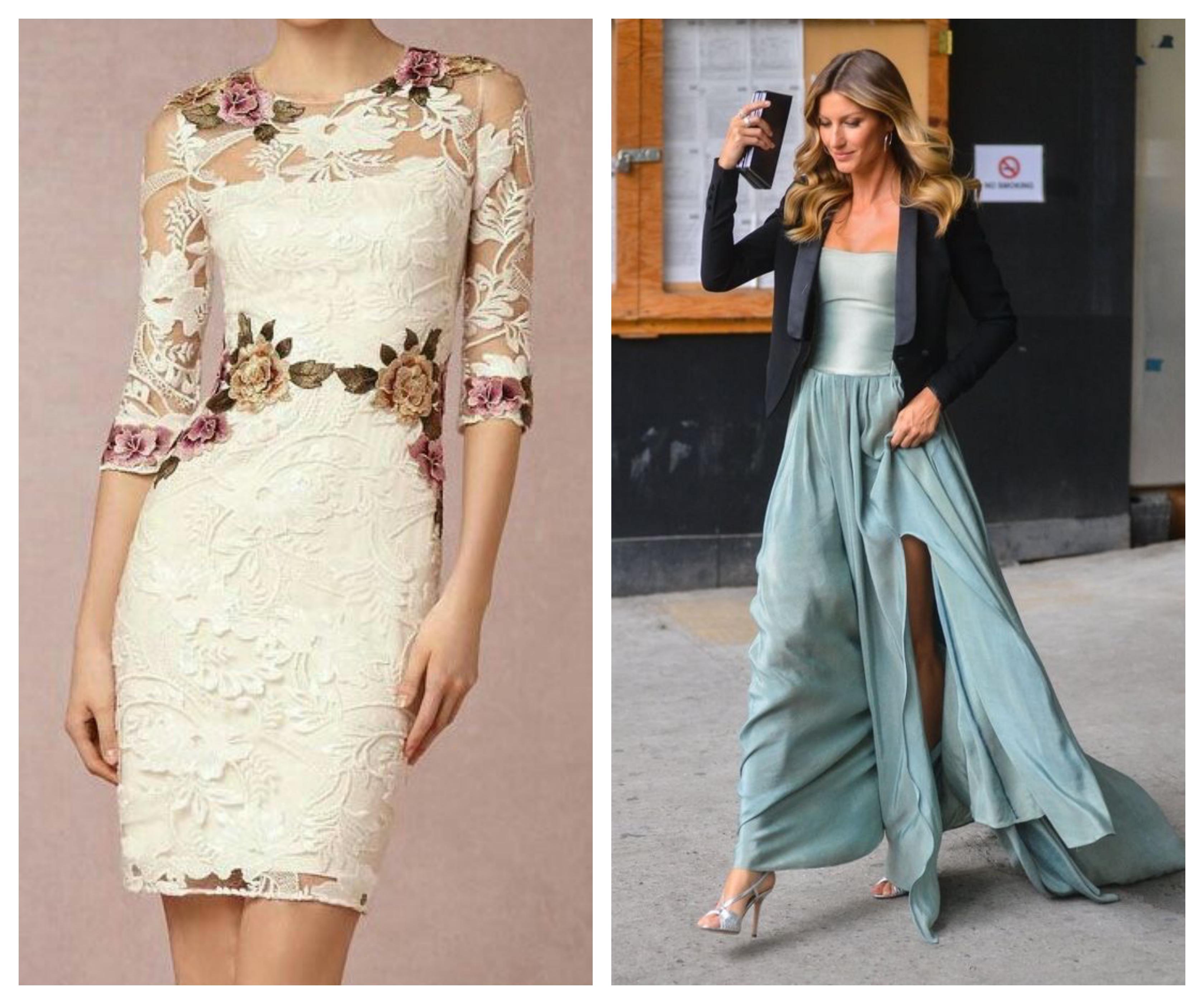 Весеннее вечернее платье