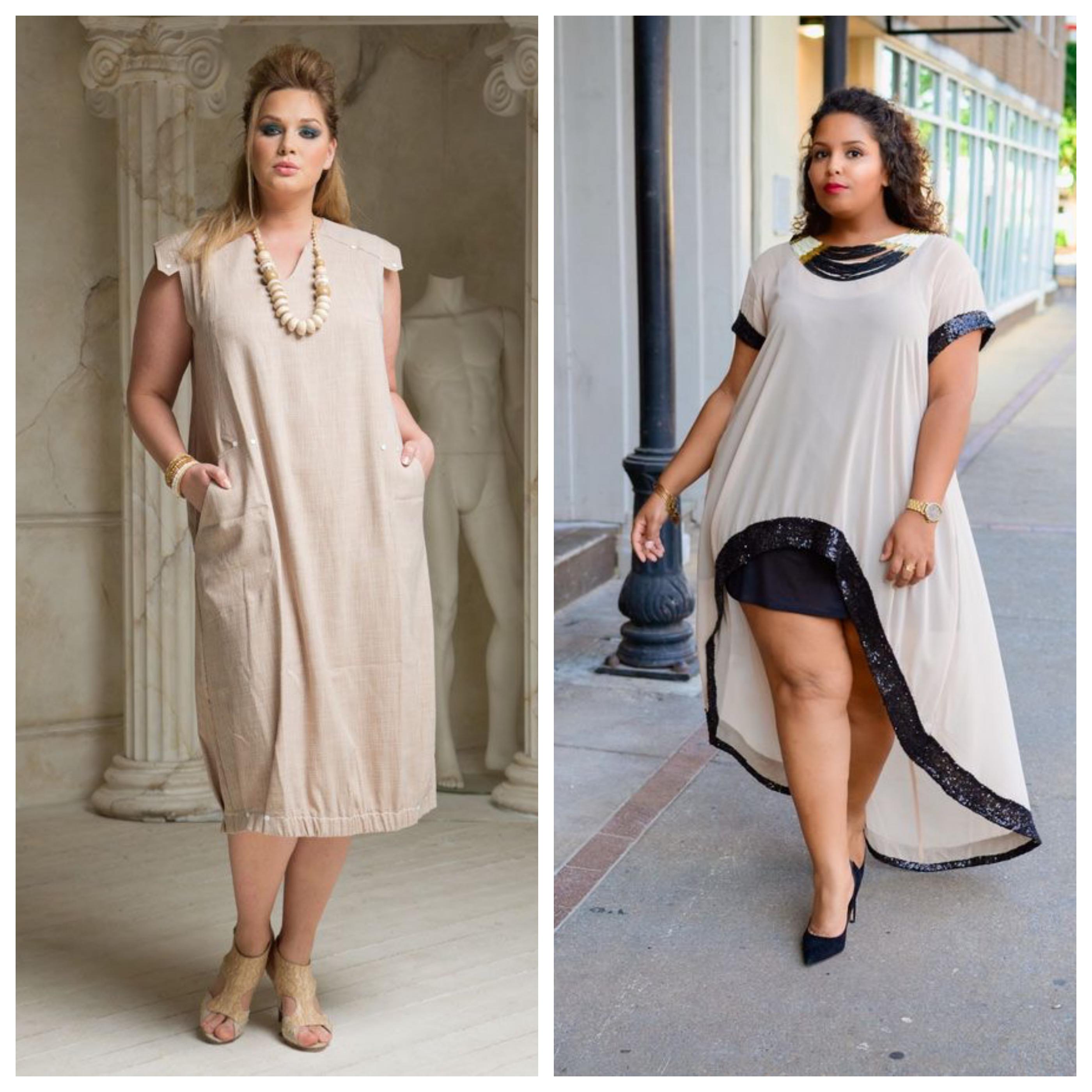 Детали и аксессуары в моде для полных