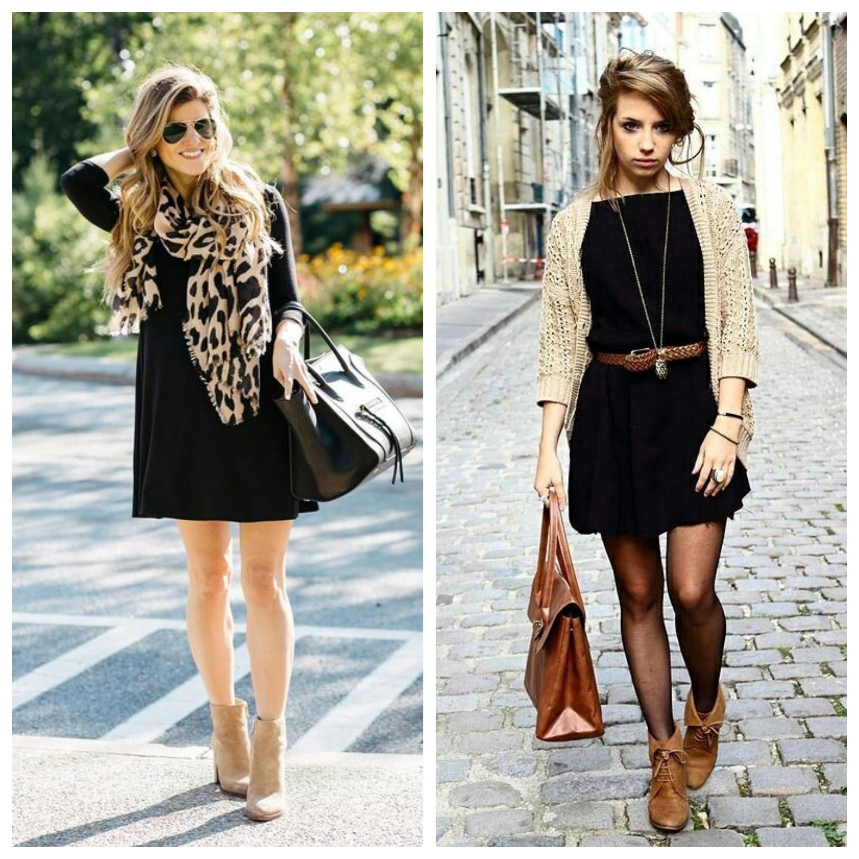Маленькое черное платье - идеи наряда