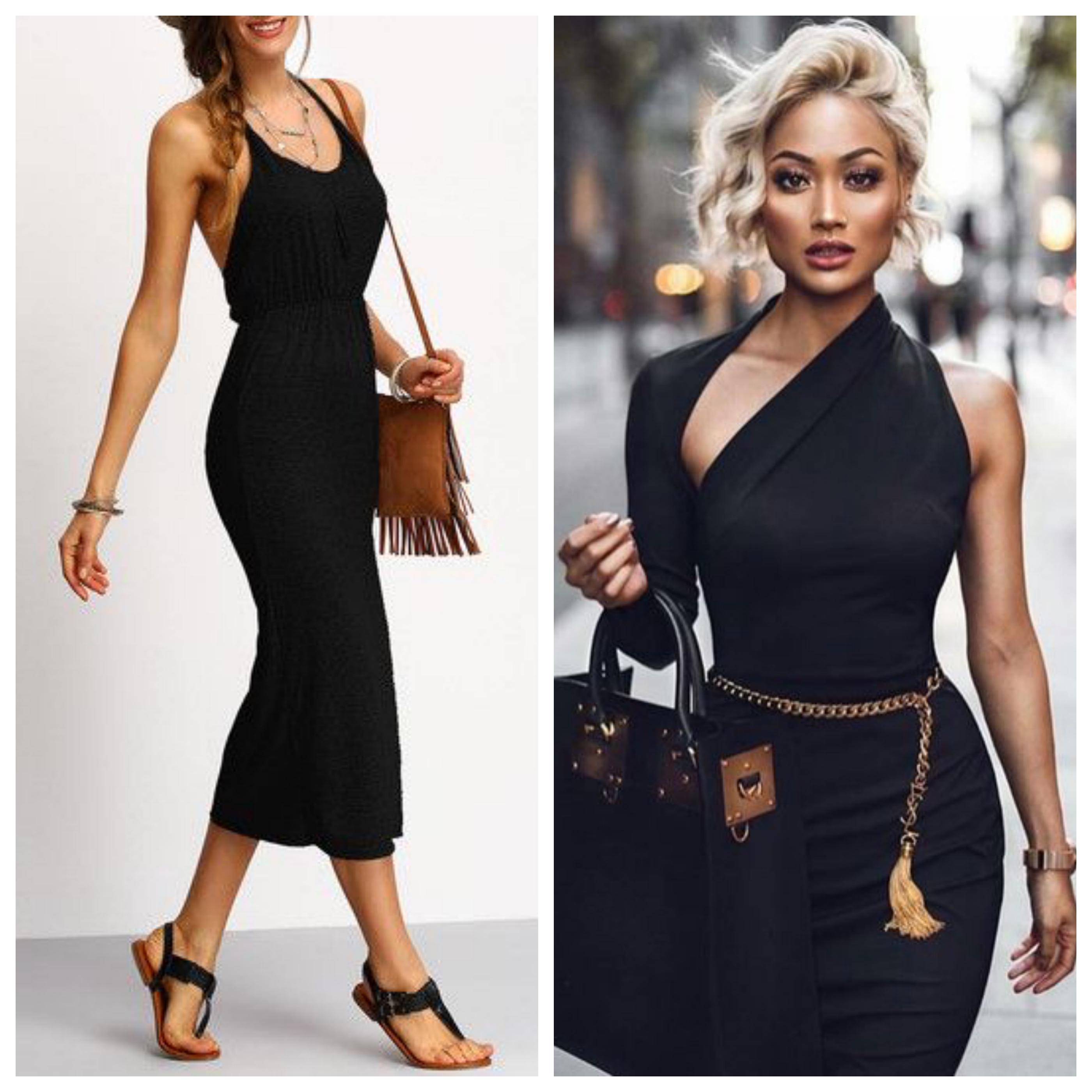 Маленькое черное платье - стильные образы тут