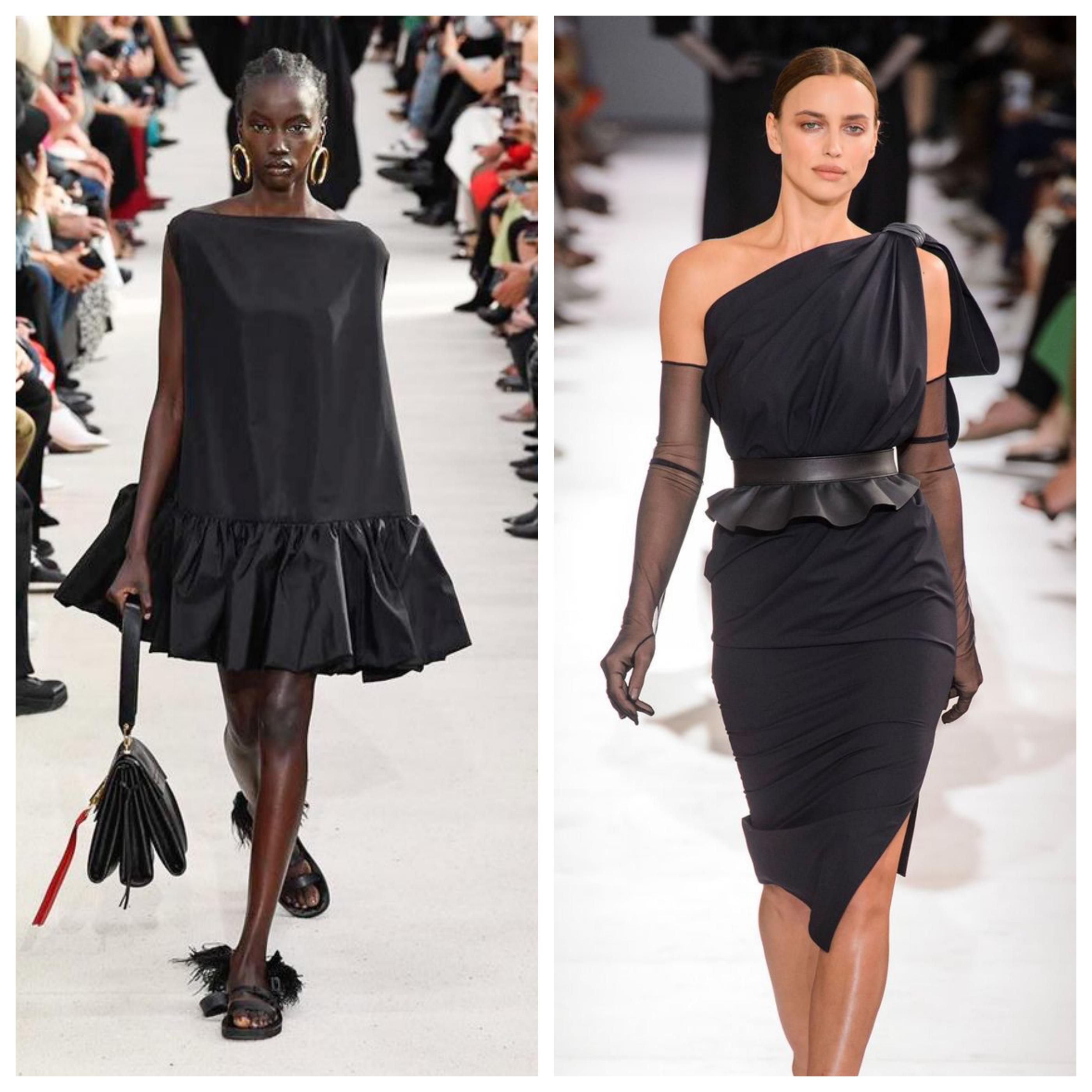 Маленькое черное платье - модные фасоны
