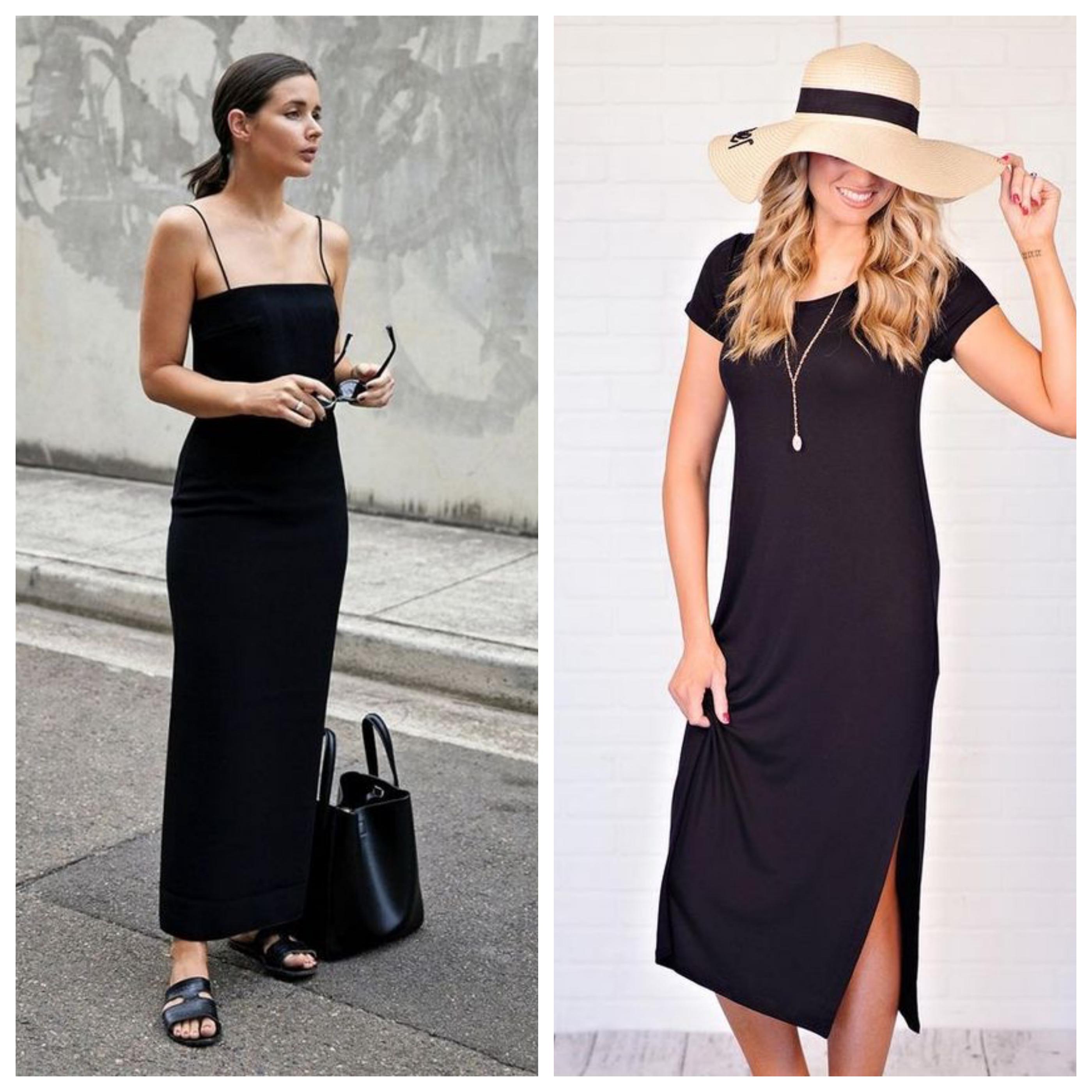 Маленькое черное платье - идеи и образы