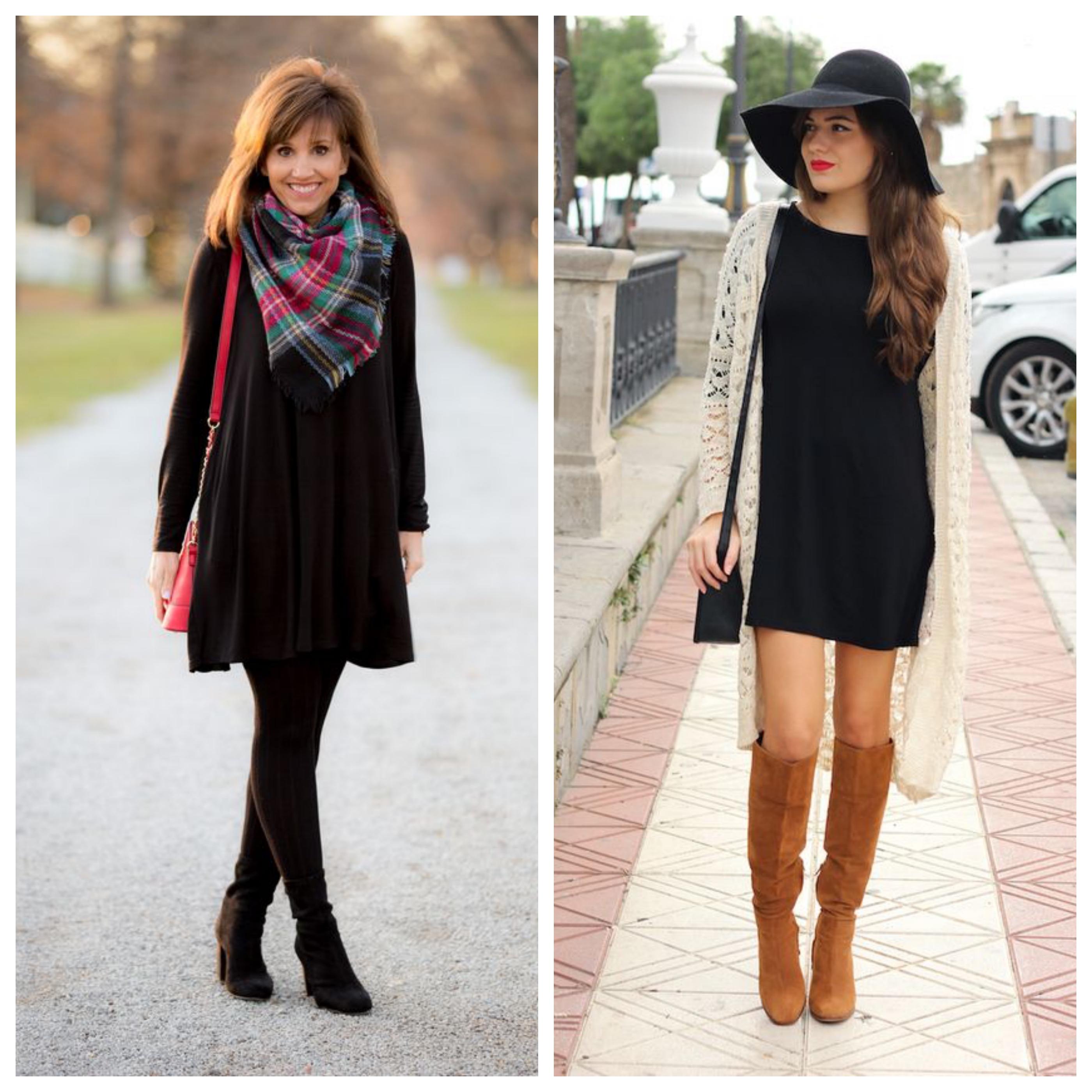 Маленькое черное платье - с чем сочетать