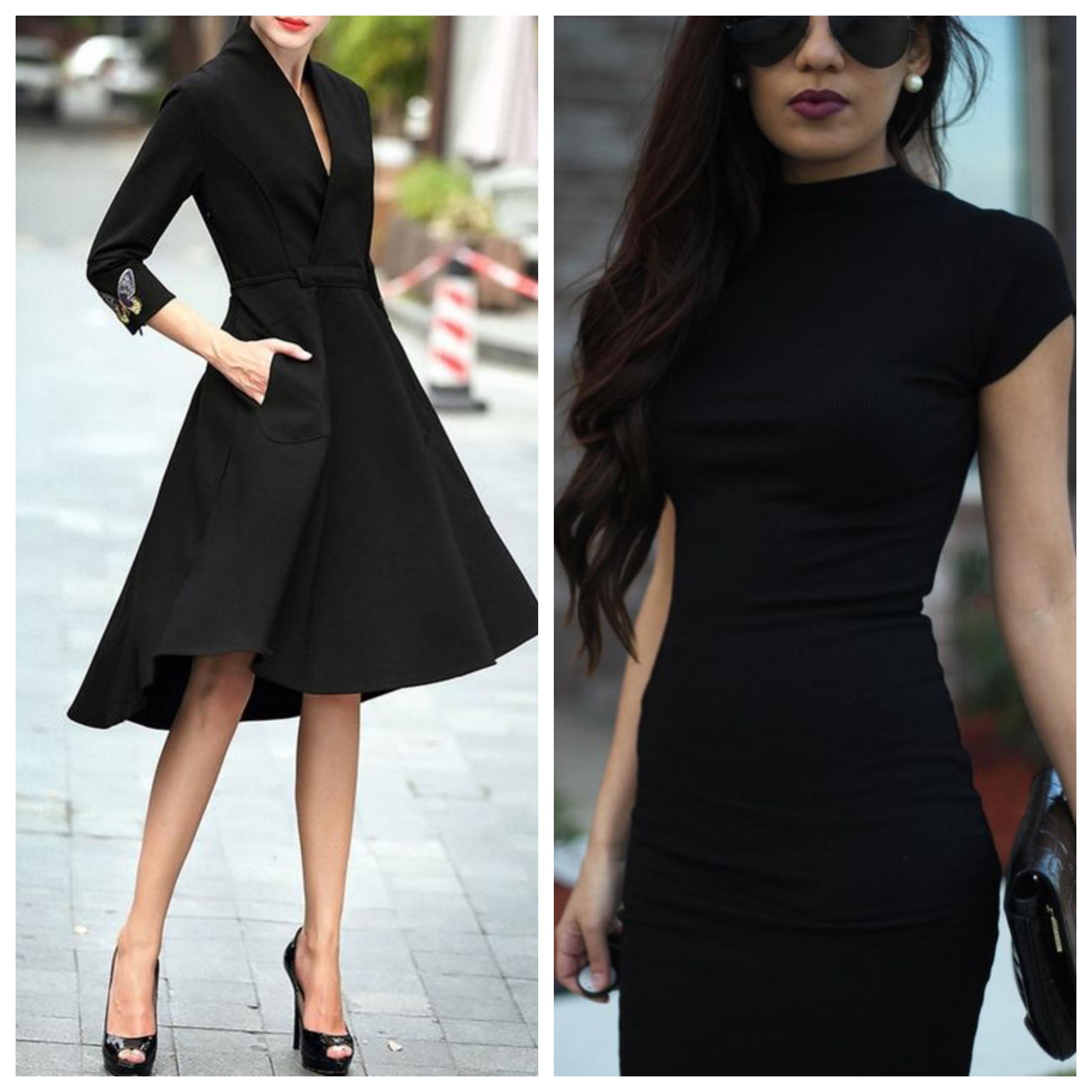 Маленькое черное платье для офиса