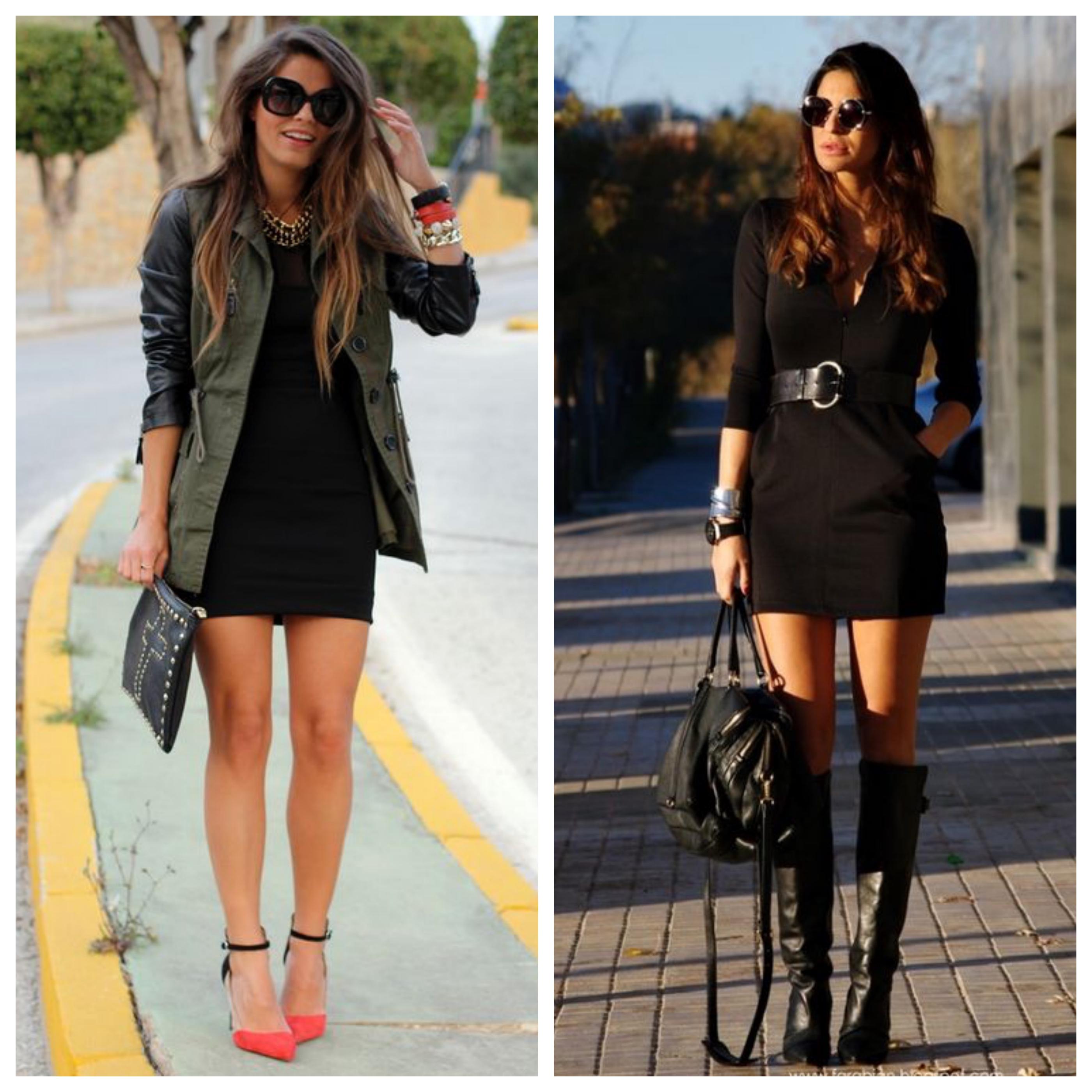 Маленькое черное платье - с чем носить