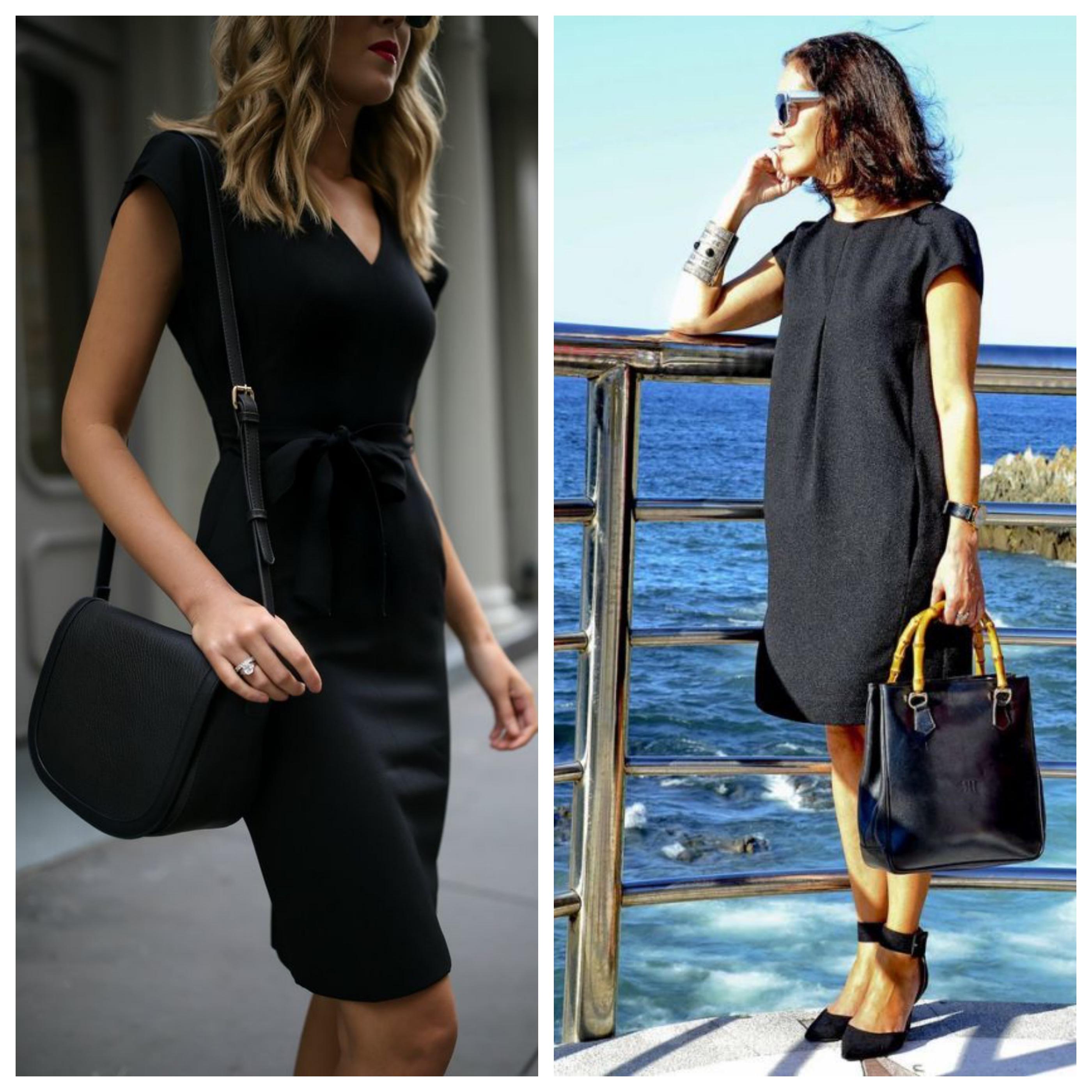 Маленькое черное платье для работы